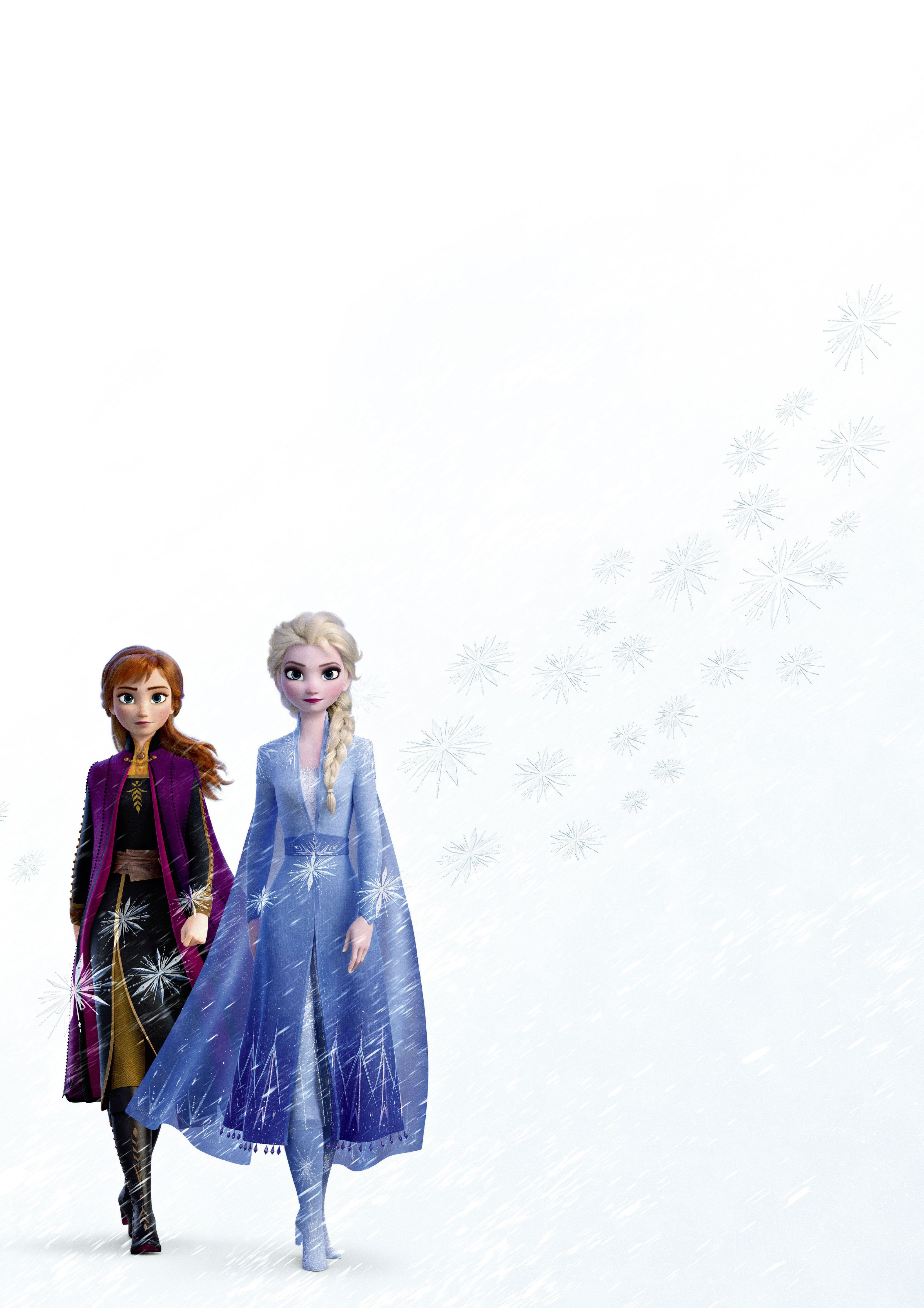 Elsa And Anna In Frozen 2 Movie Wallpaper Hd Movies 4k Wallpapers