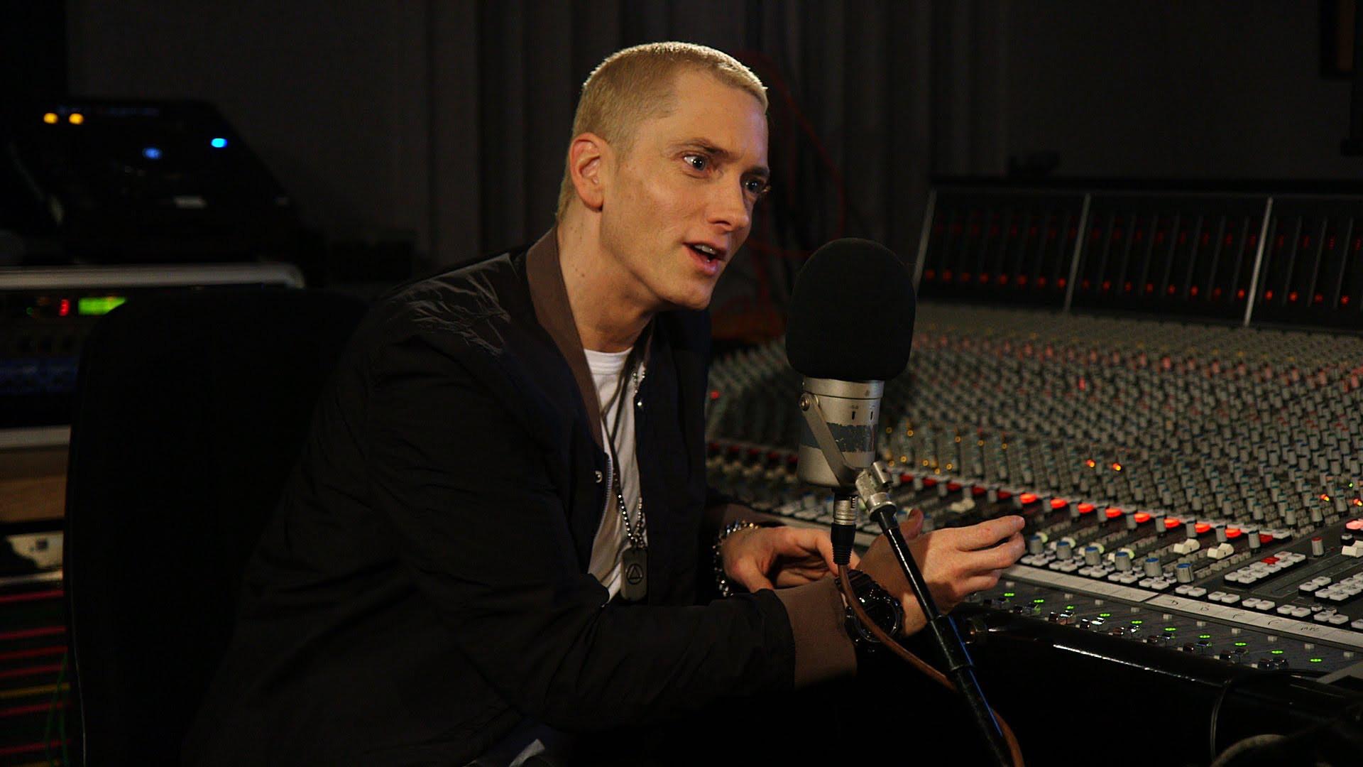 Eminem Studio Rapper Full Hd Wallpaper