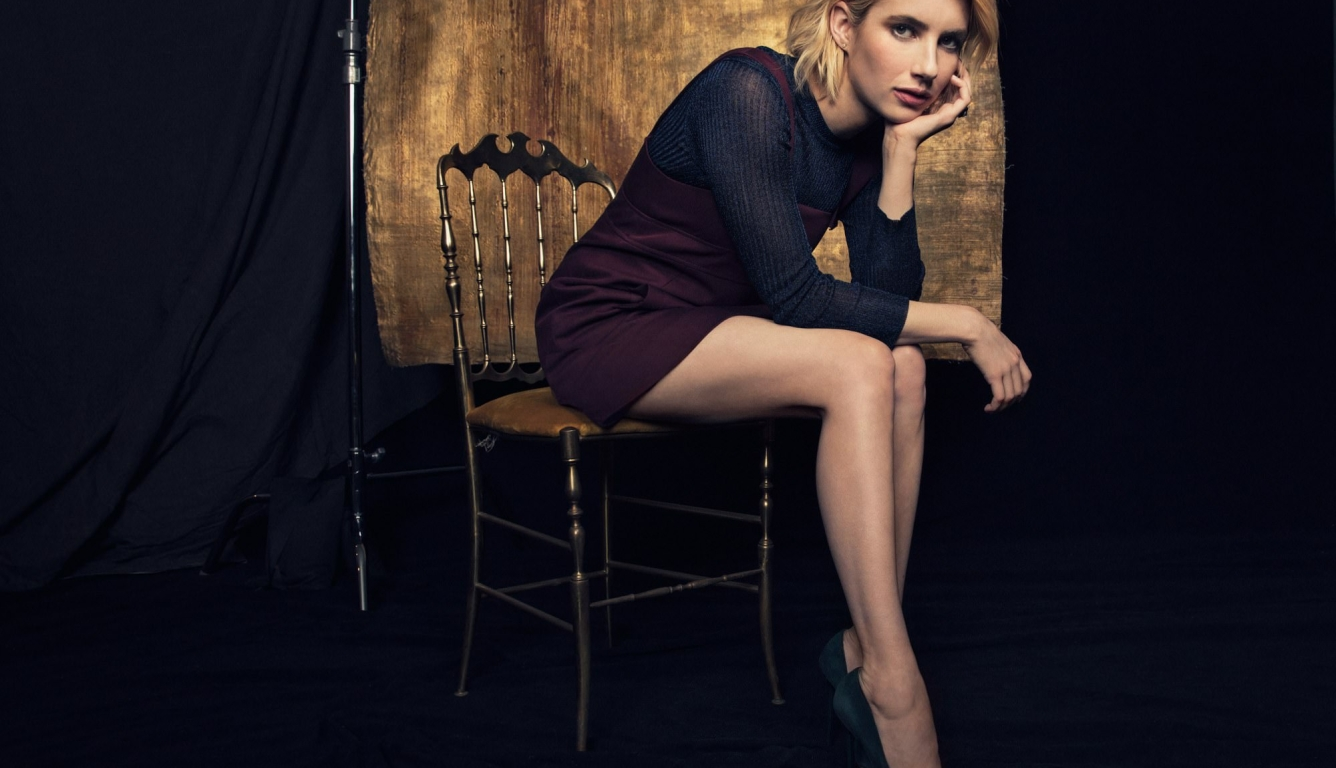 1336x768 Emma Roberts Vanity Fair 2017 Hd Laptop Wallpaper Hd Celebrities 4k Wallpapers Images Photos And Background