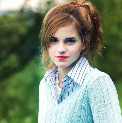 480x484 Emma Watson RED LIP IMAGES Android One Wallpaper ...