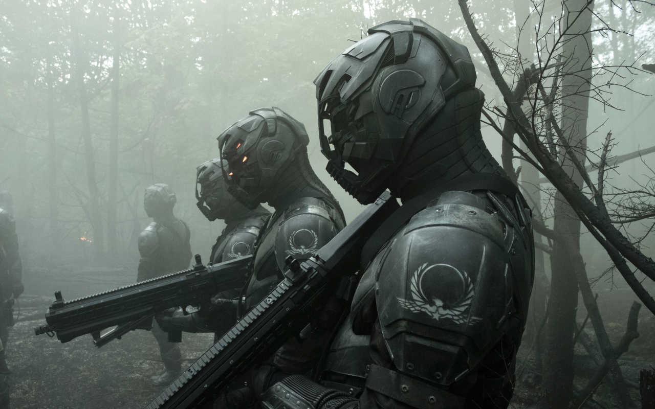 Envoys from Altered Carbon Wallpaper in 1280x800 Resolution