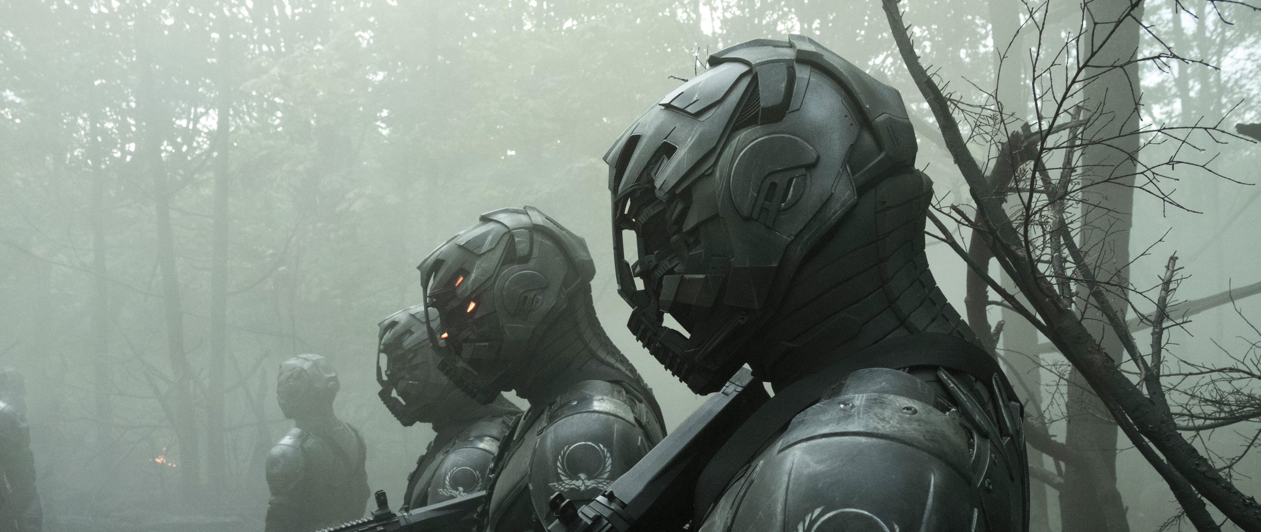 Envoys from Altered Carbon Wallpaper in 2560x1080 Resolution