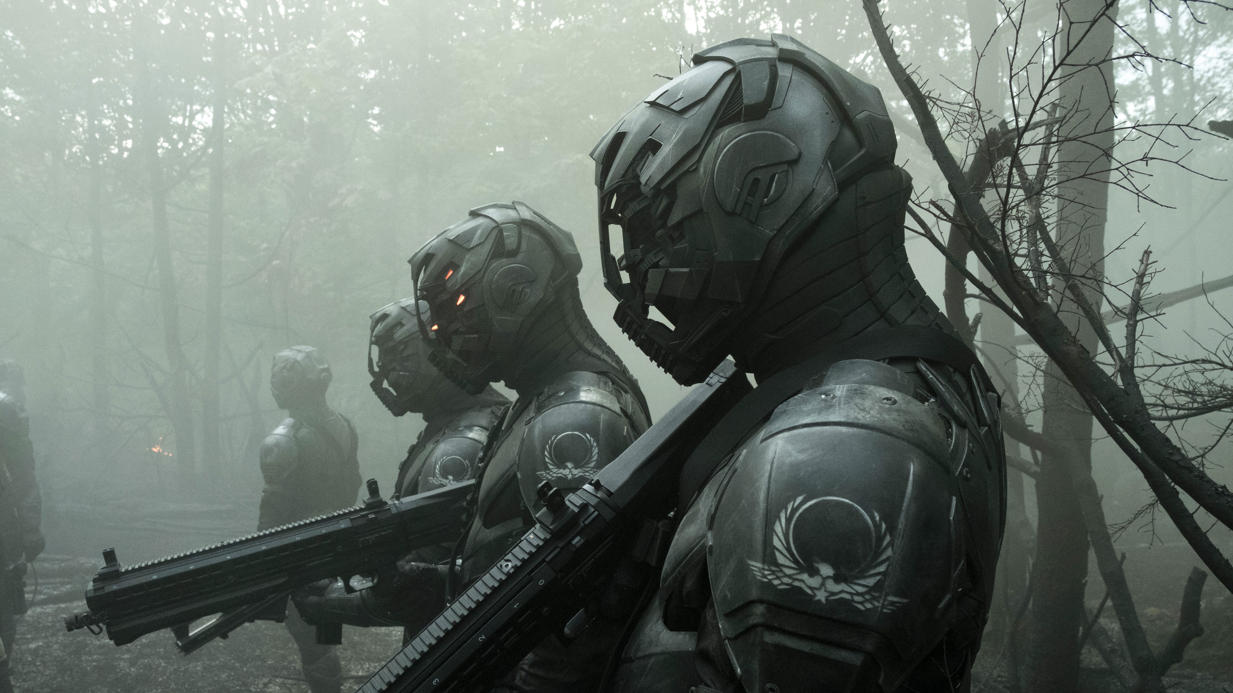 Envoys from Altered Carbon Wallpaper in 5120x2880 Resolution