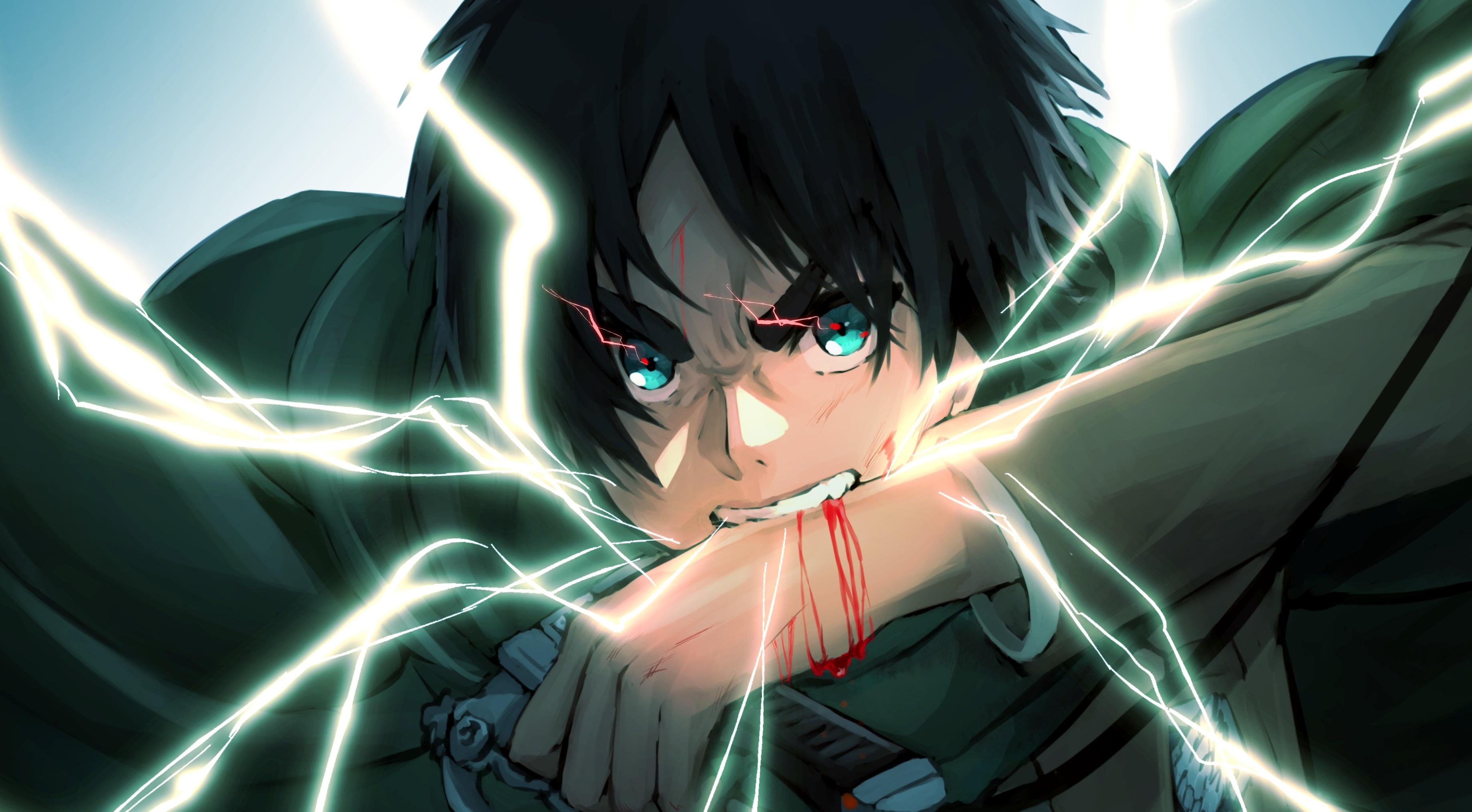 Eren Yeager Anime Art 4K Wallpaper, HD Anime 4K Wallpapers ...