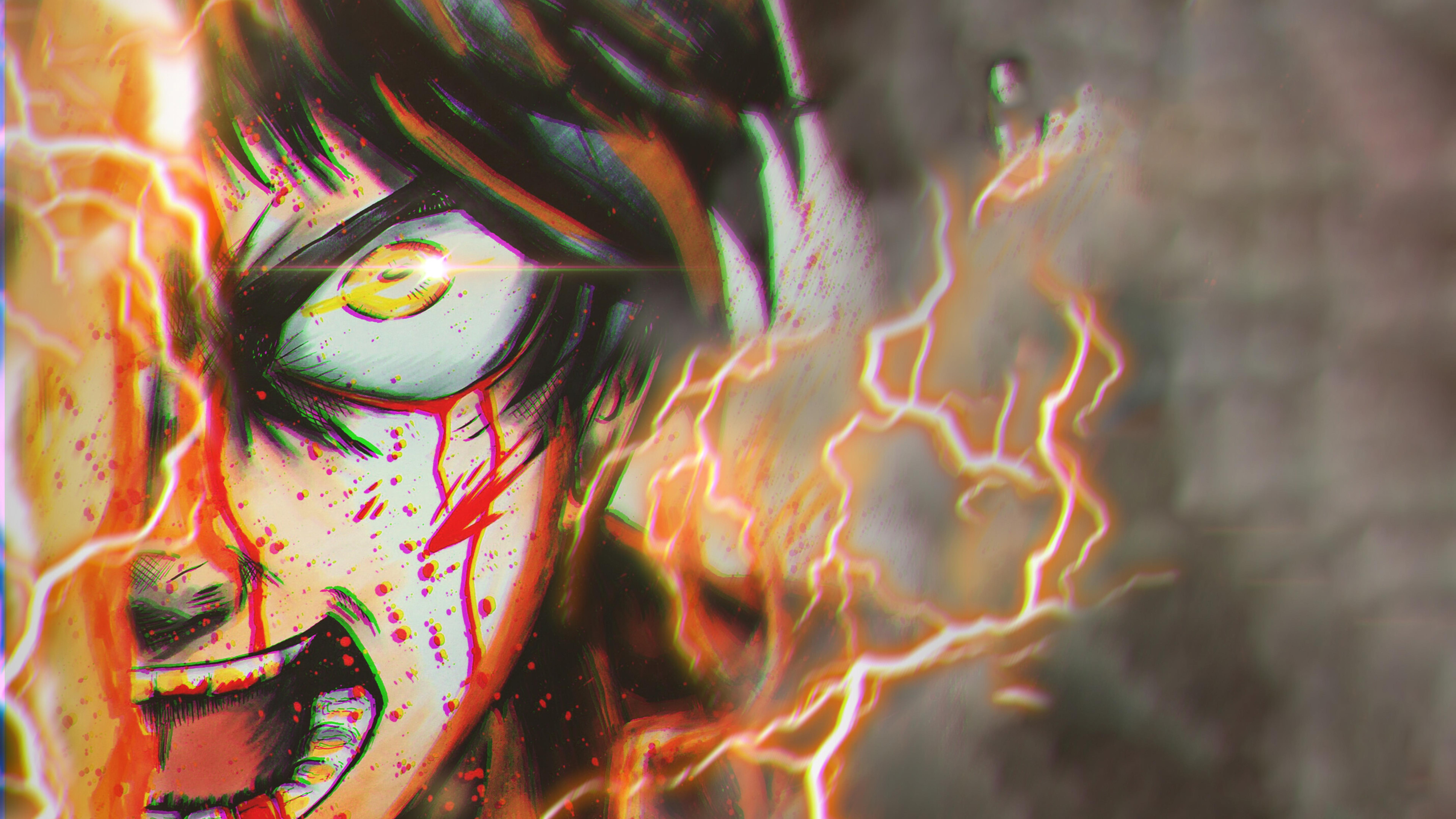 7680x4320 Eren Yeager In Aot 8k Wallpaper Hd Anime 4k