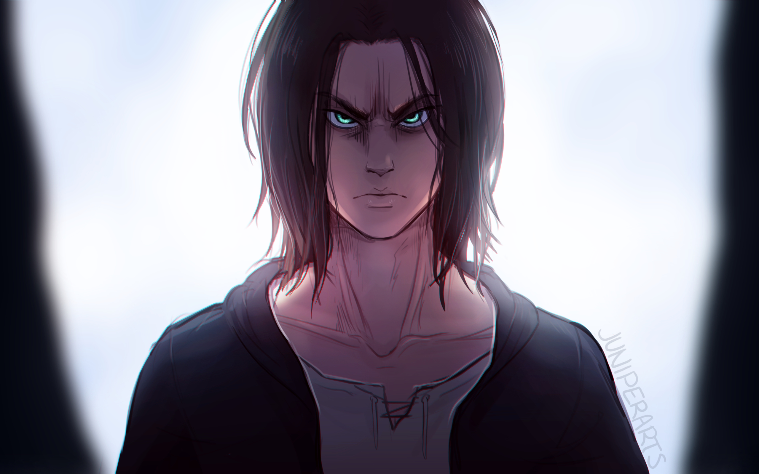 2560x1600 Eren Yeager 2560x1600 Resolution Wallpaper Hd Anime 4k Wallpapers Images Photos And Background