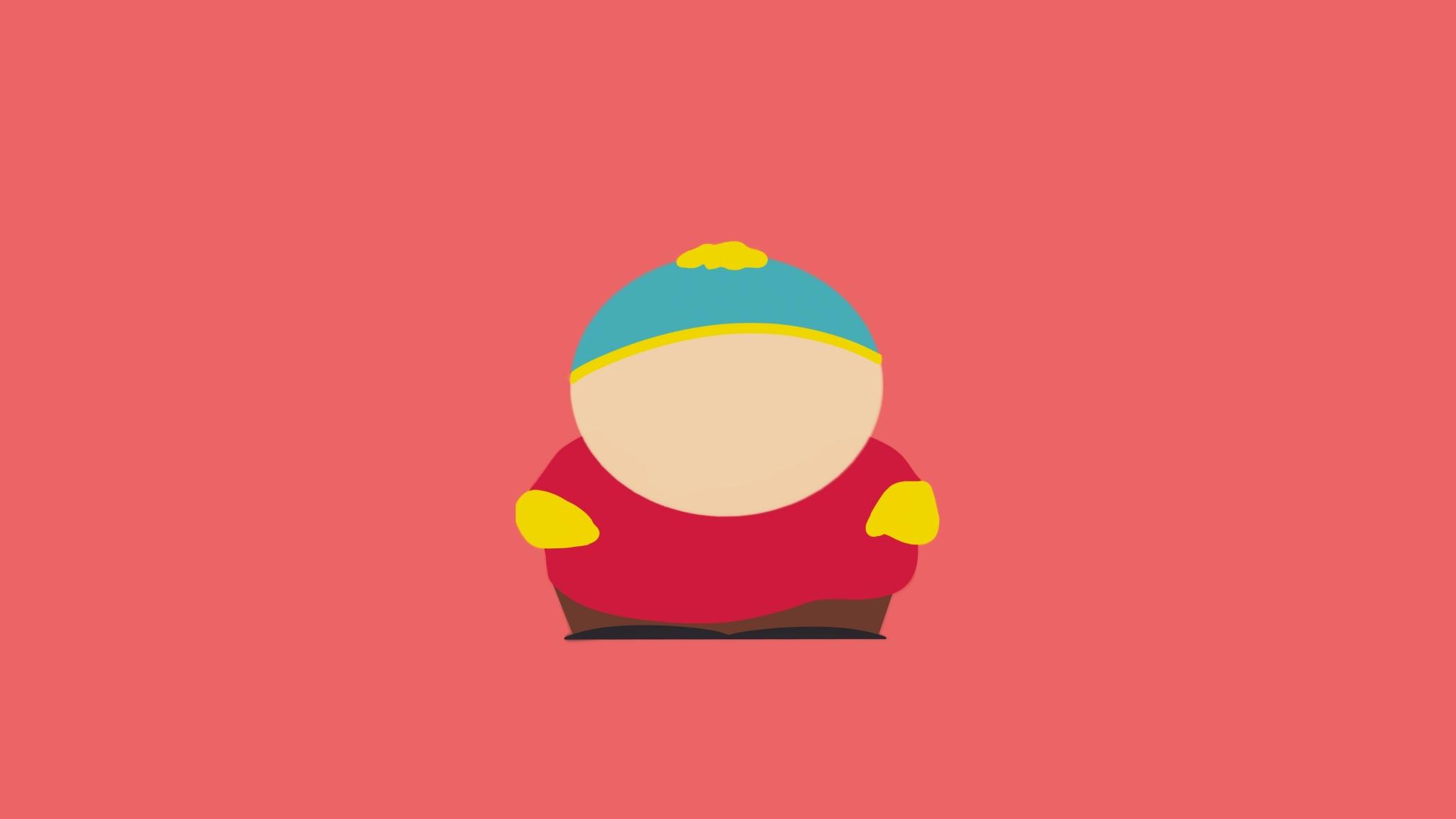 Eric Cartman South Park Minimal, HD 8K Wallpaper