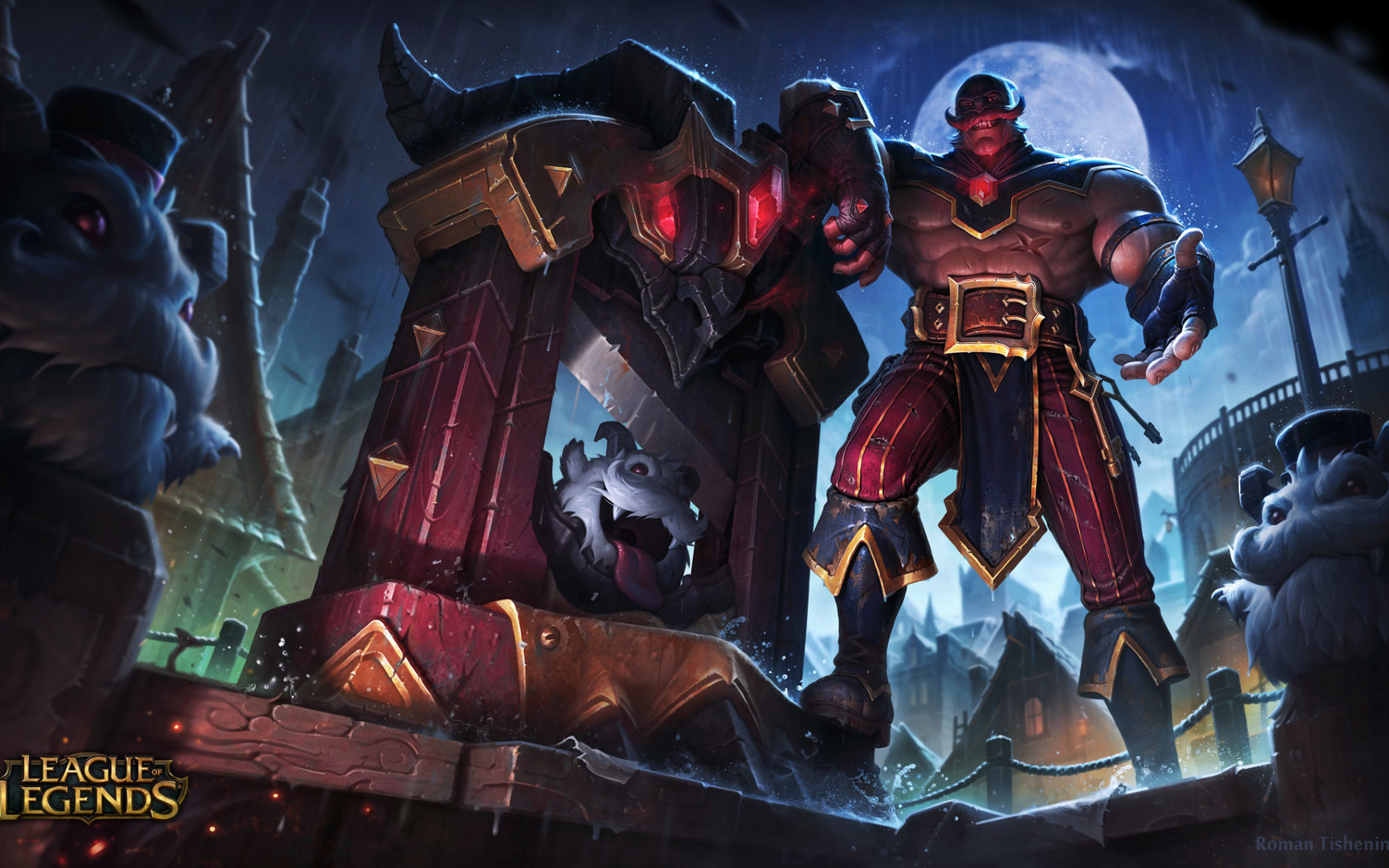 executioner braum league of legends full hd wallpaper