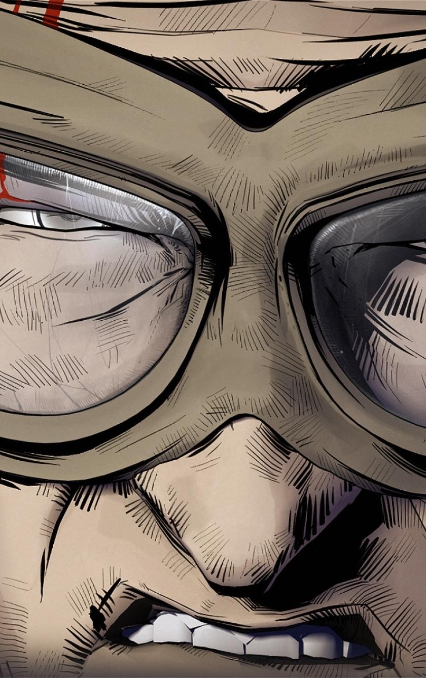 лицо гримаса очки face grimace glasses без смс