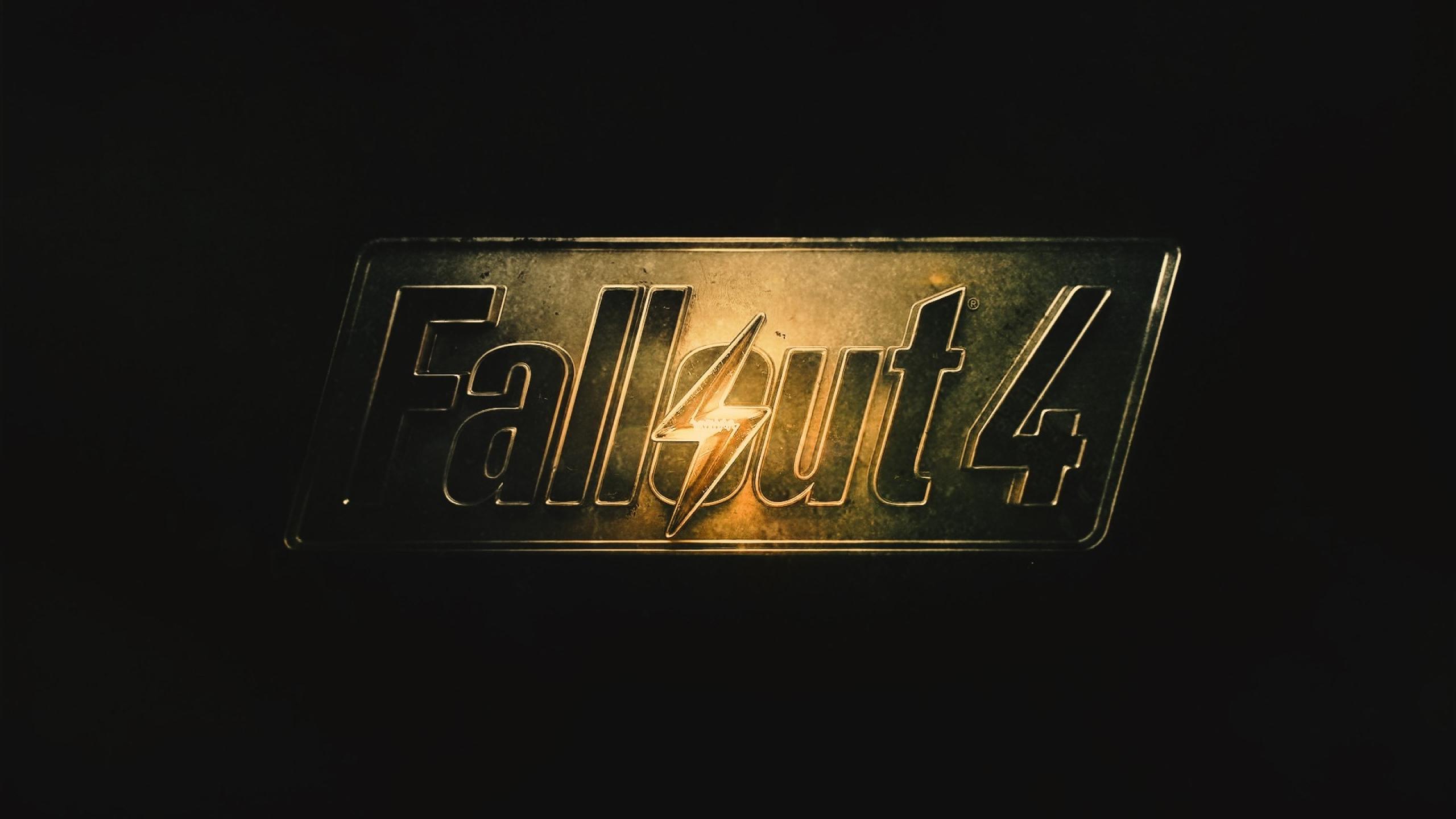 2560x1440 Fallout 4 Fallout Logo 1440p Resolution