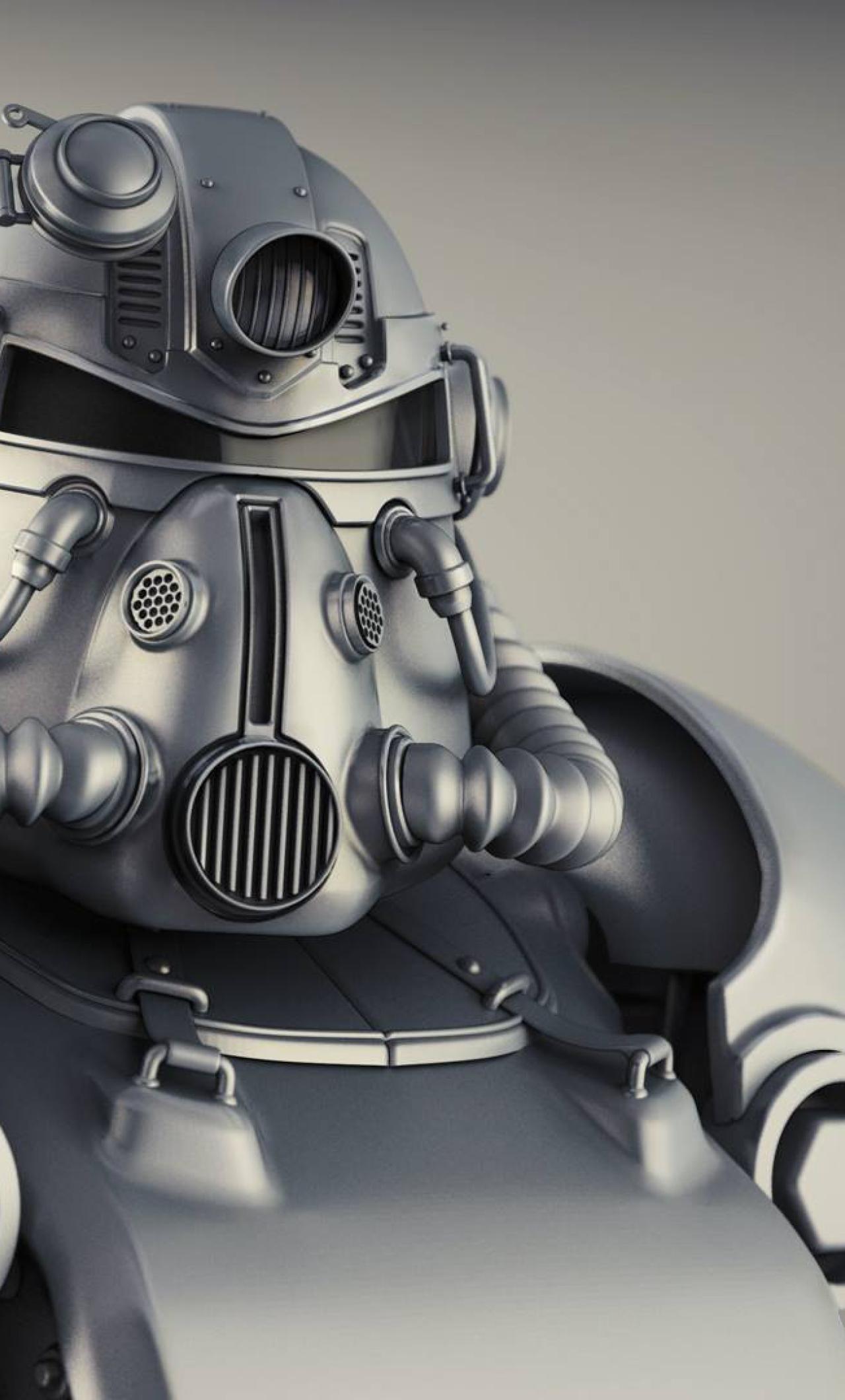 1280x2120 Fallout 4 T 51b Power Armor Iphone 6 Plus Wallpaper