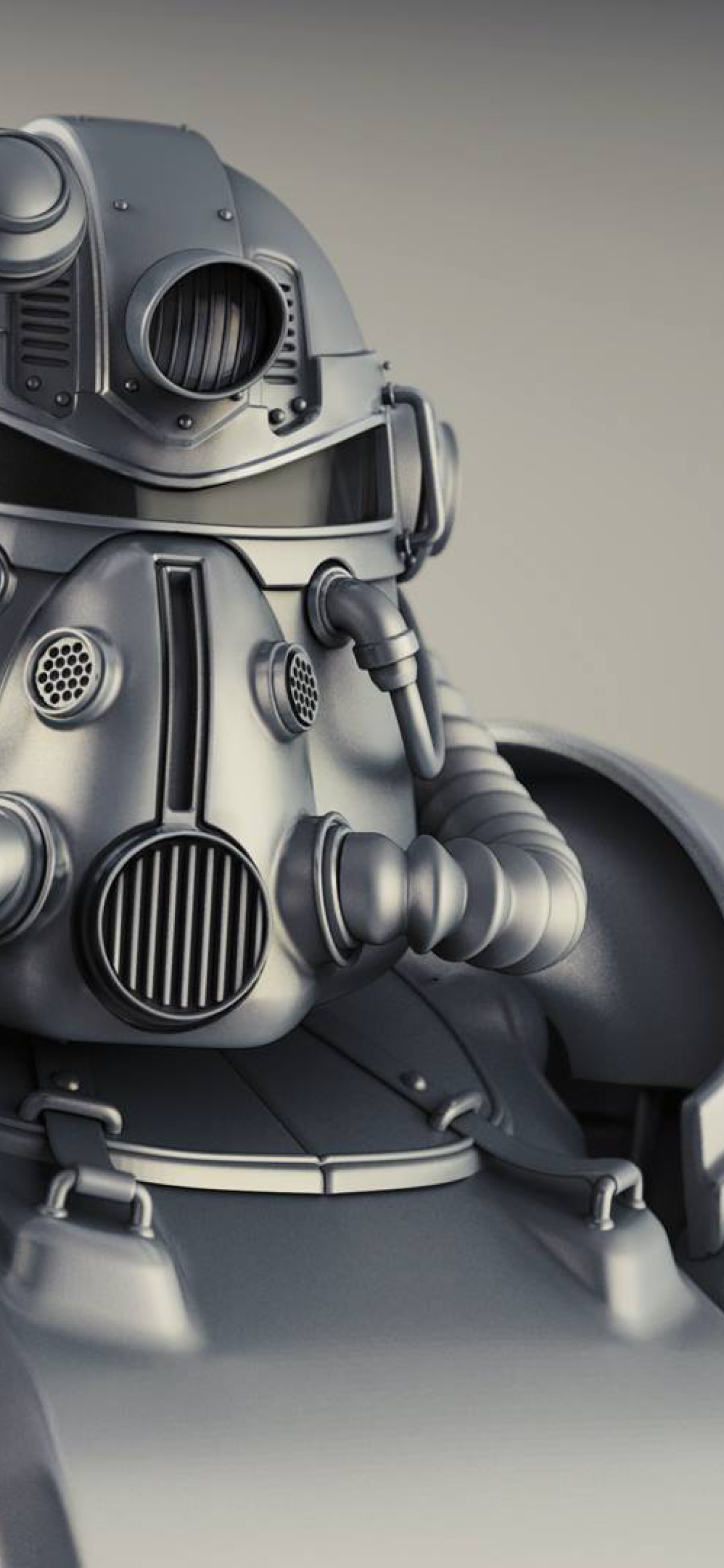 1242x2688 Fallout 4 T 51b Power Armor Iphone Xs Max Wallpaper