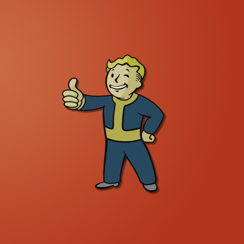 1224x1224 Fallout Vault Boy Fallout 3 1224x1224 Resolution
