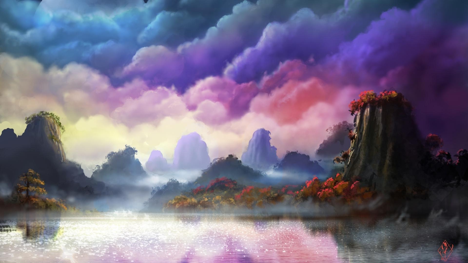1920x1080 Fantasy Forest 1080p Laptop Full Hd Wallpaper Hd