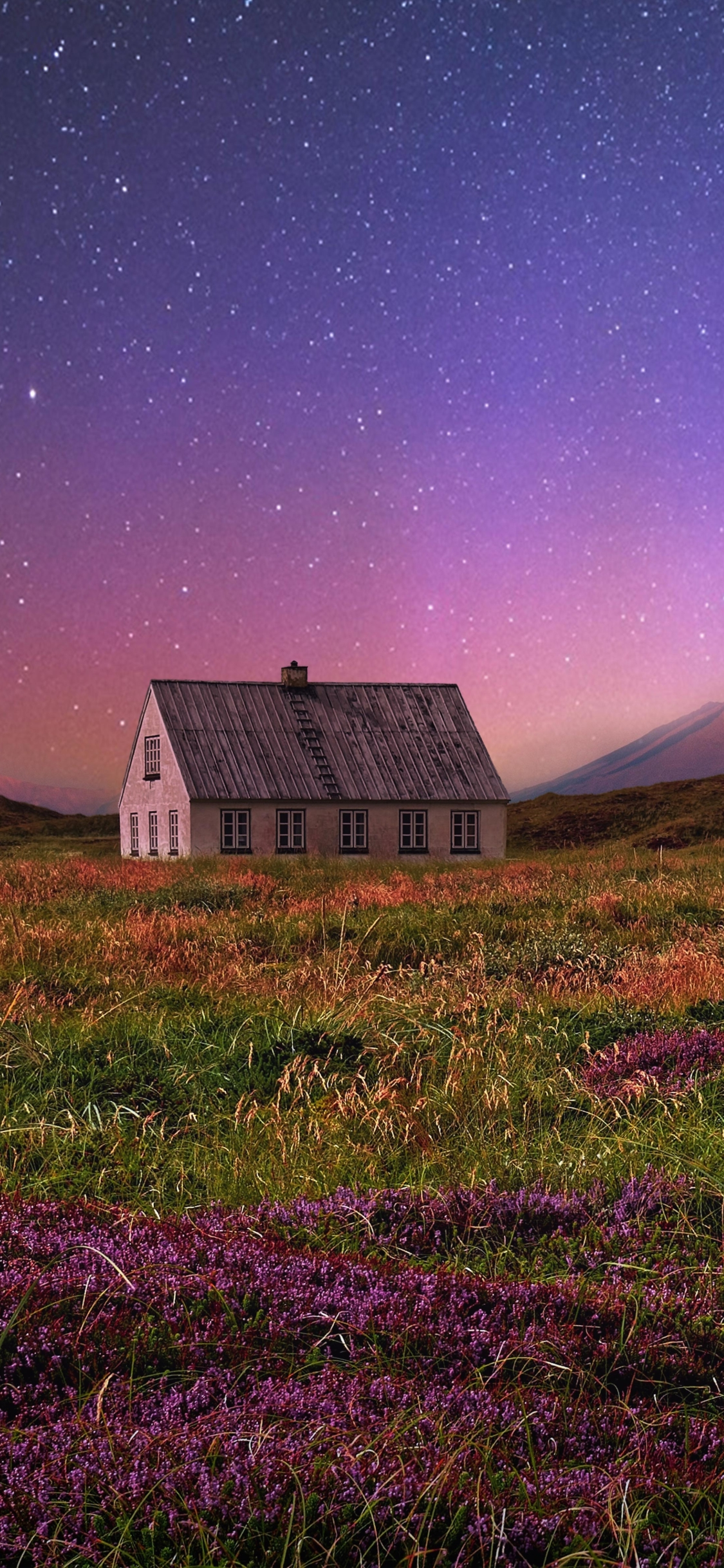 1125x2436 Fantasy House in Field 4K Iphone XS,Iphone 10 ...