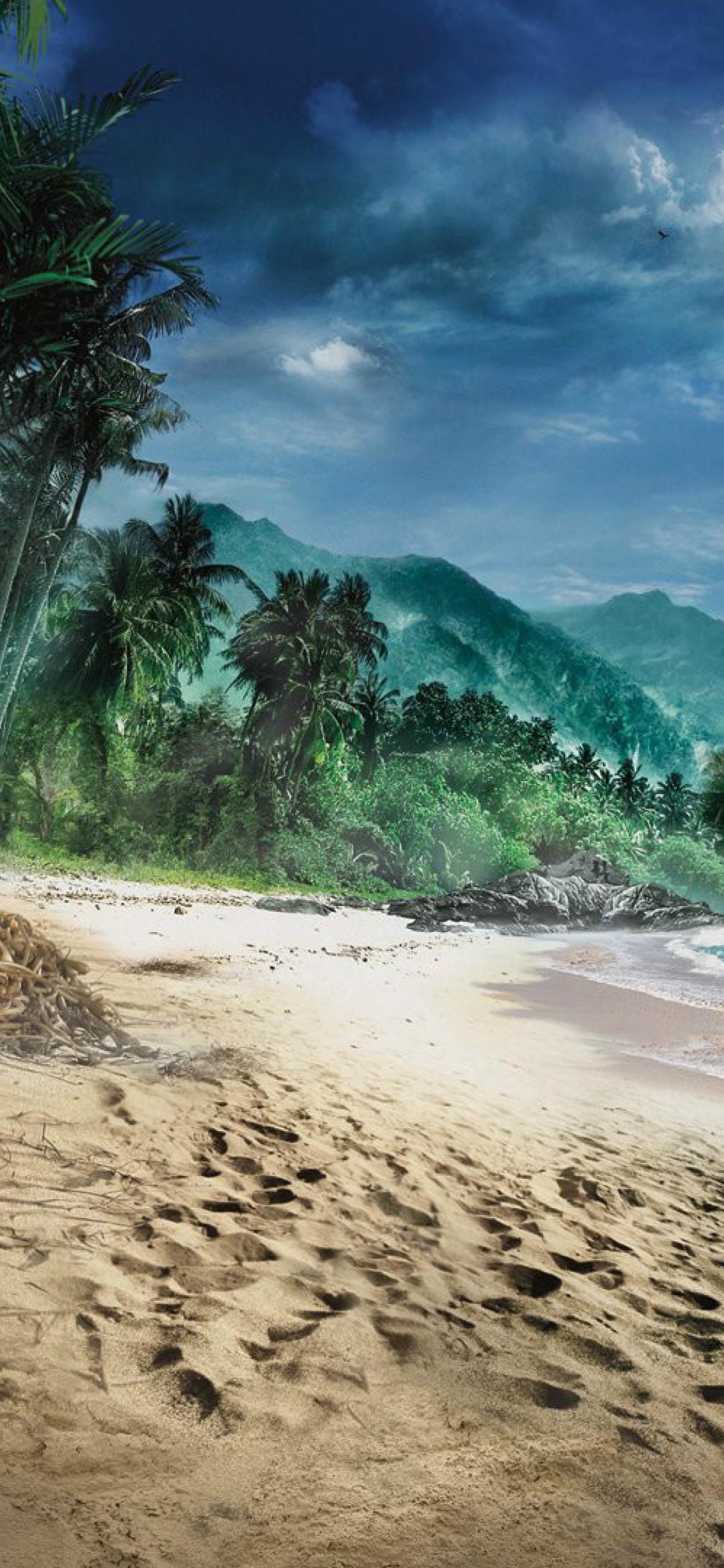 1242x2688 Far Cry 3 Beach Game Iphone Xs Max Wallpaper Hd Games