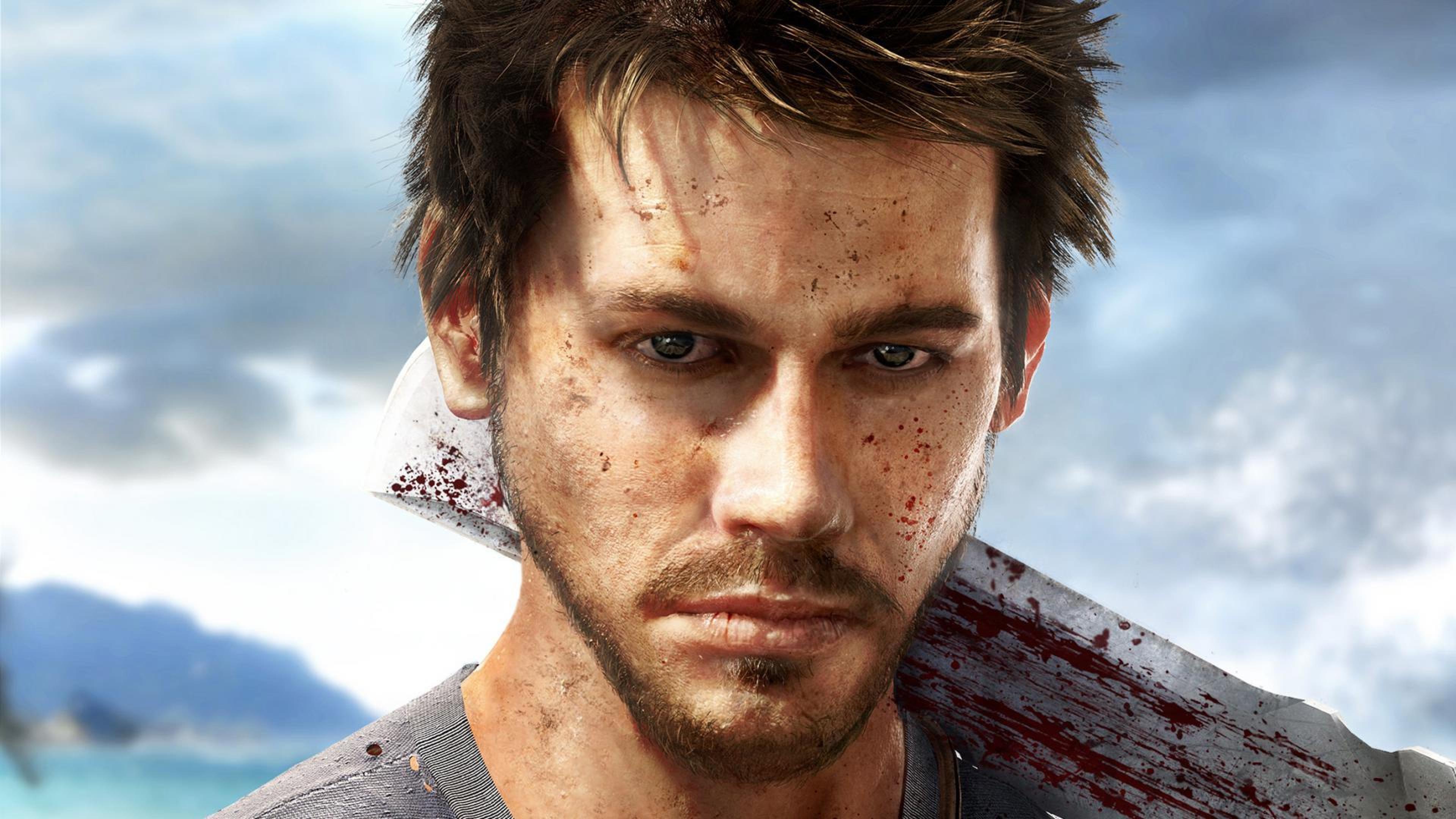 3840x2160 Far Cry 3 Jason Brody Weapons 4k Wallpaper Hd Games