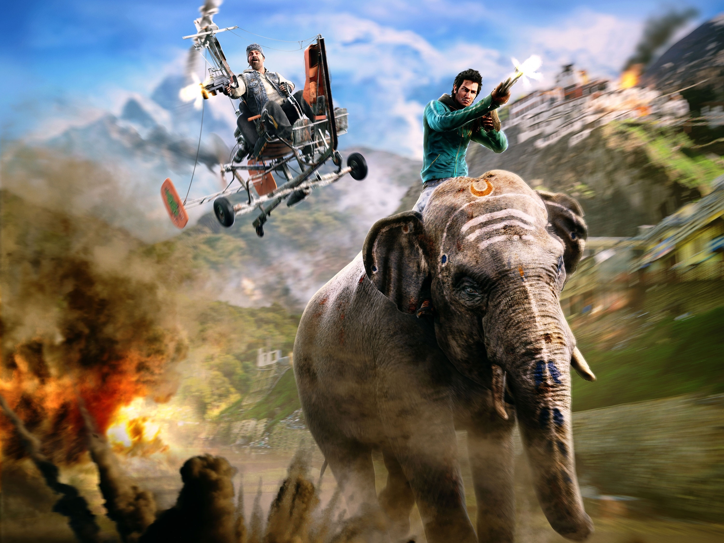 Far Cry 4 Far Cry Ajay Ghale Wallpaper Hd Games 4k Wallpapers
