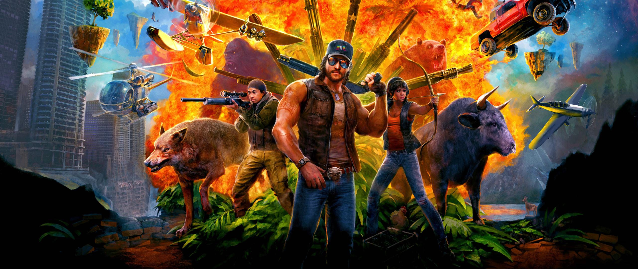 2560x1080 Far Cry 5 Game 2560x1080 Resolution Wallpaper Hd Games