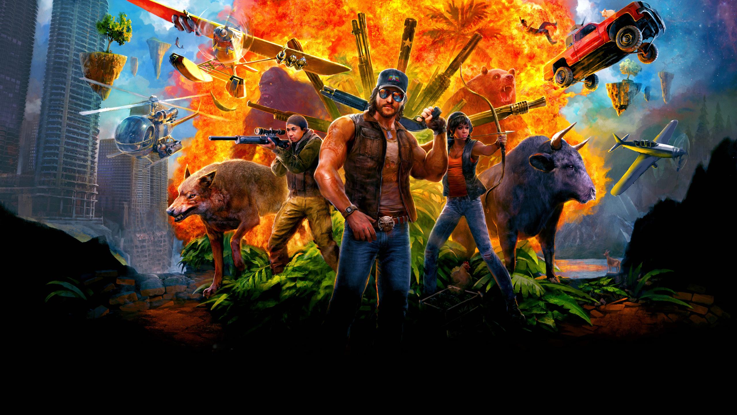 2560x1440 Far Cry 5 Game 1440p Resolution Wallpaper Hd Games 4k