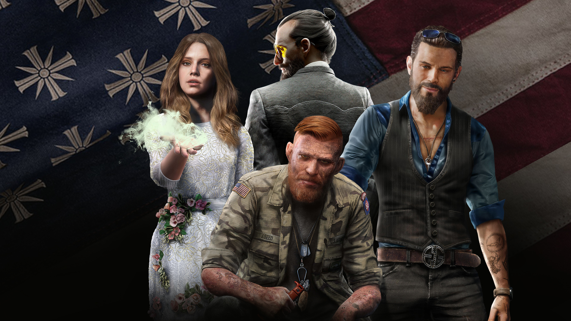 Far Cry 5 Wallpapers: Far Cry 5 Seed Family, Full HD Wallpaper