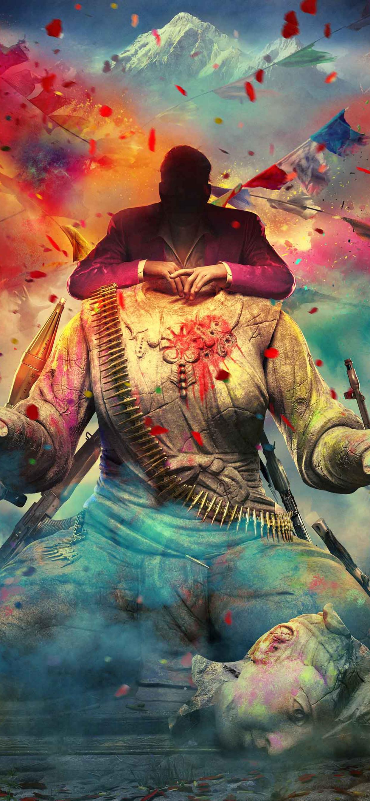 1242x2688 Far Cry Vaas And Pagan Iphone Xs Max Wallpaper Hd Games