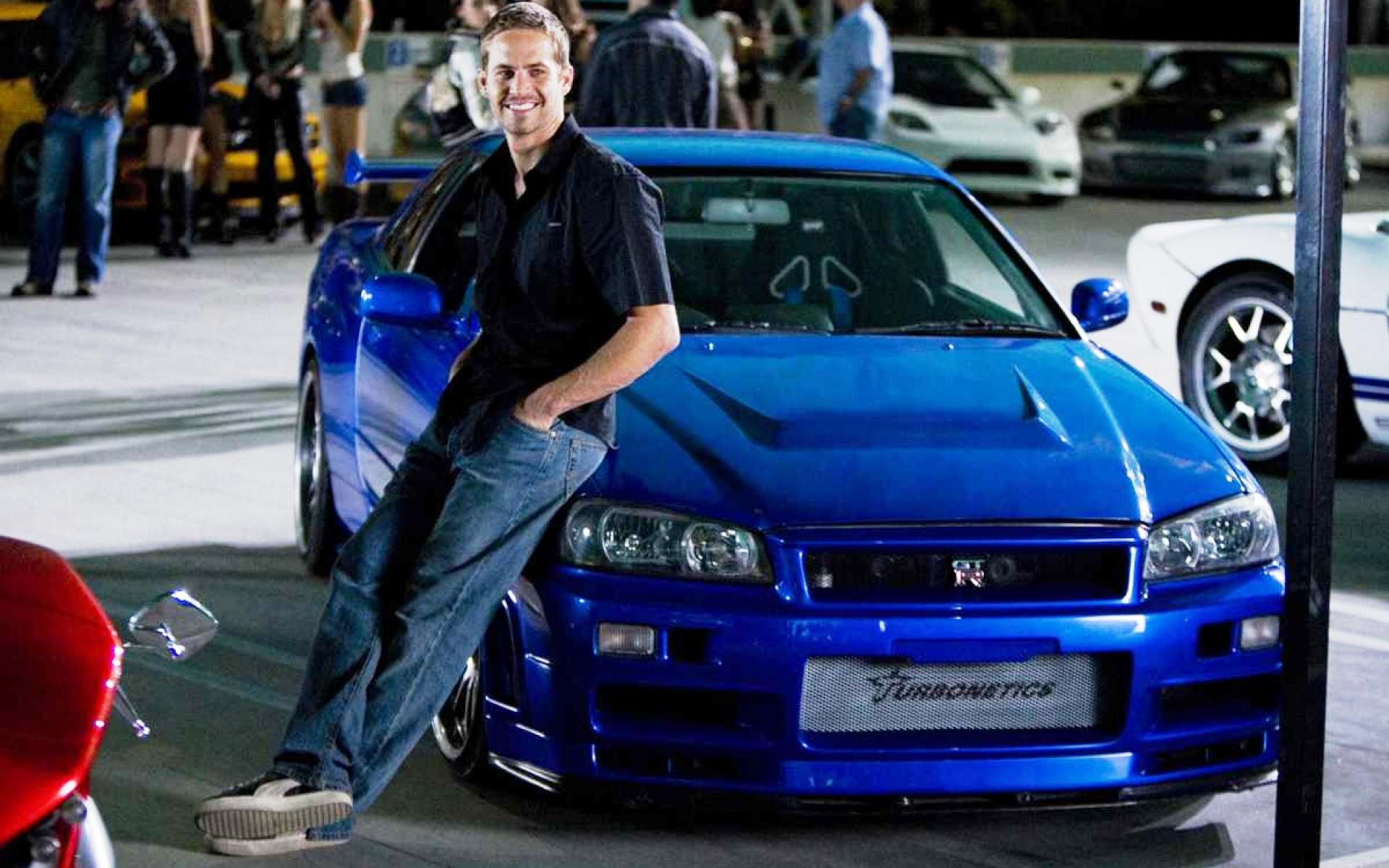 Fast And Furious Paul Walker Blue Car Wallpaper Wallpaper Hd Celebrities 4k Wallpapers Images Photos And Background