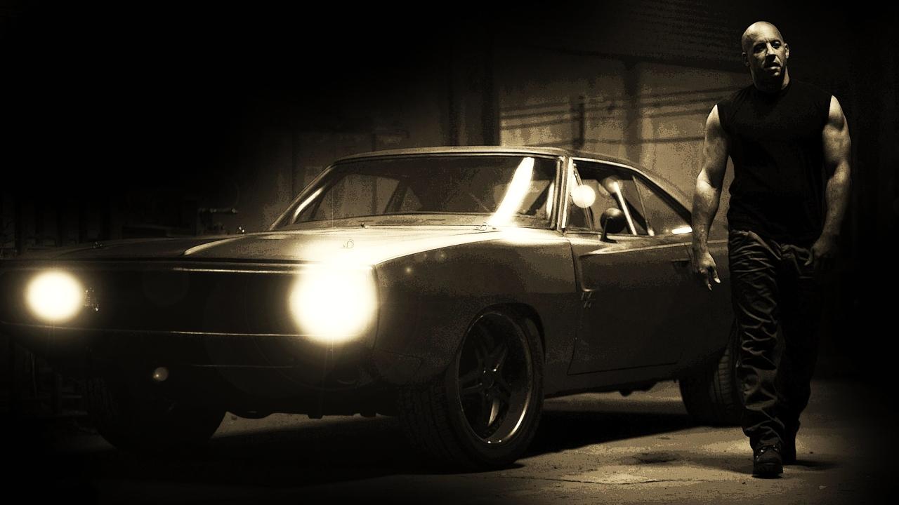 1280x720 Fast And Furious Vin Diesel Car Hd Pics 720p Wallpaper