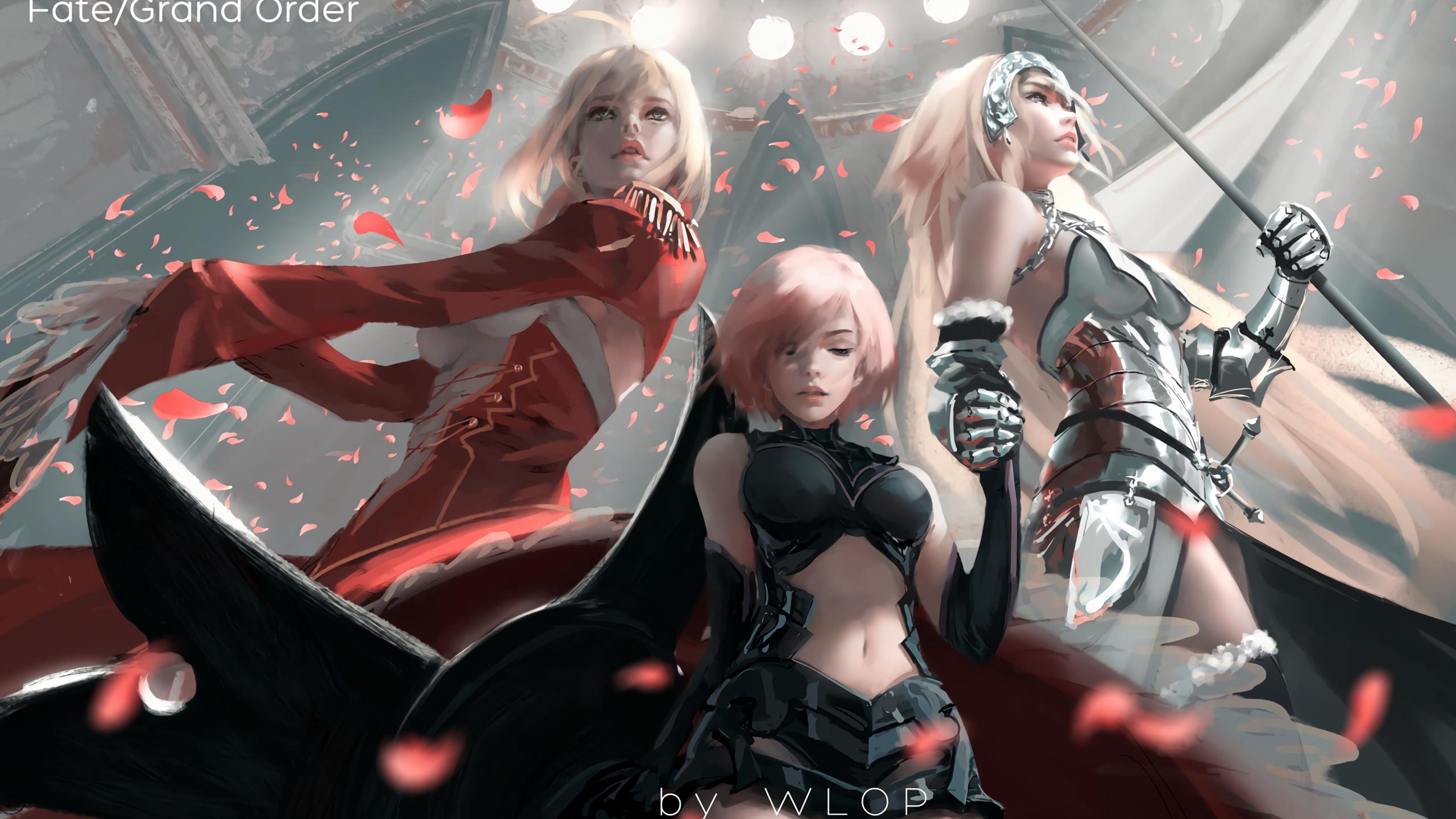 2560x1440 Fate Grand Order 1440p Resolution Wallpaper Hd Anime 4k