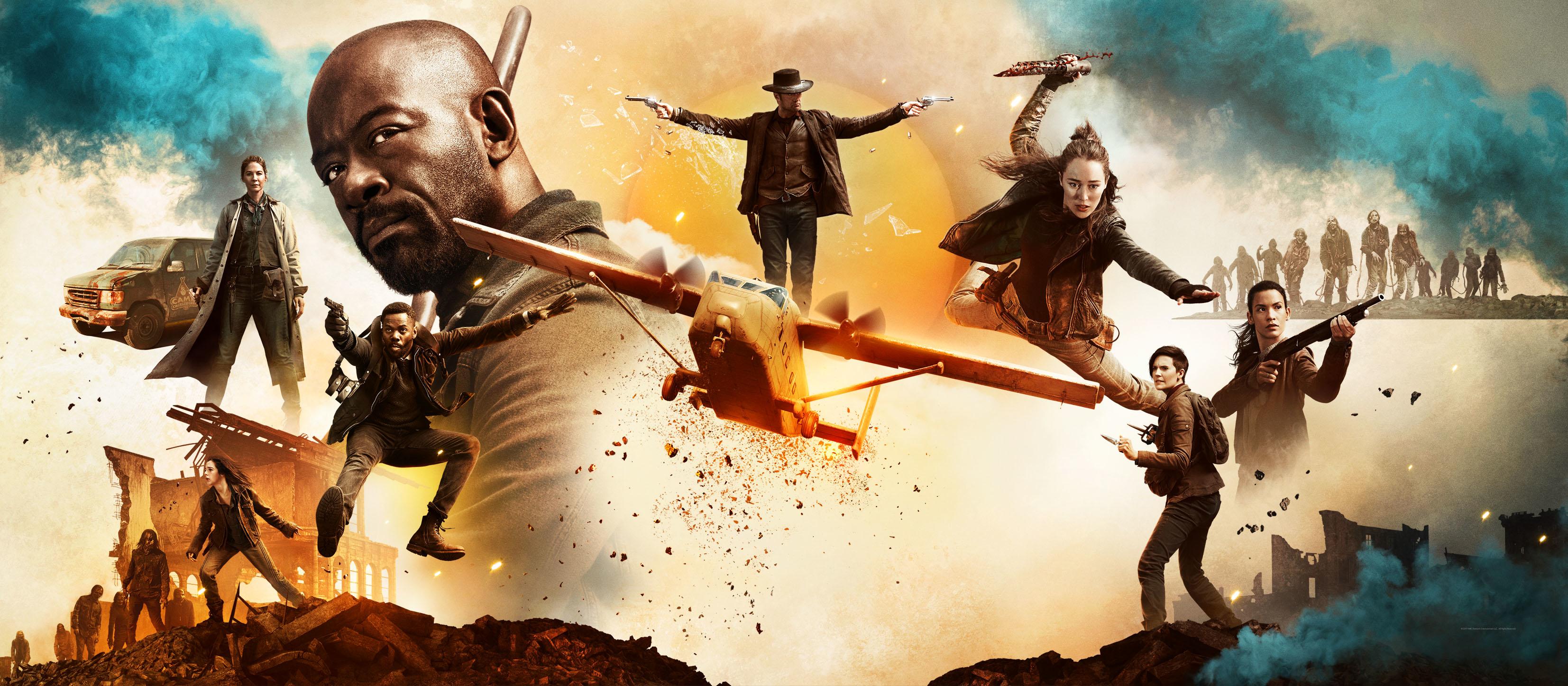Fear The Walking Dead Season 5 Wallpaper Hd Tv Series 4k