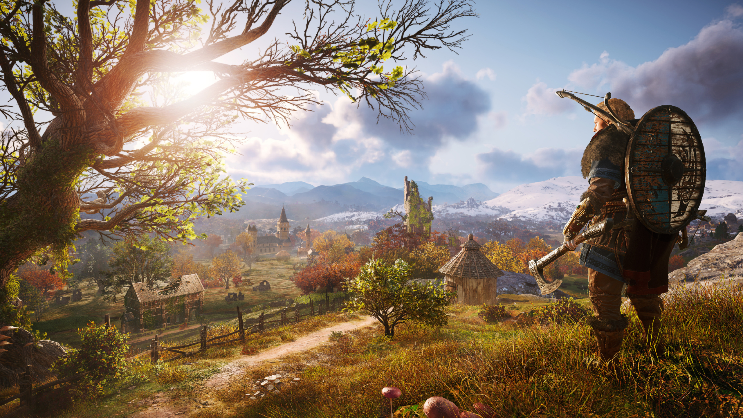 2560x1440 Female Viking Assassin S Creed Valhalla 1440p Resolution