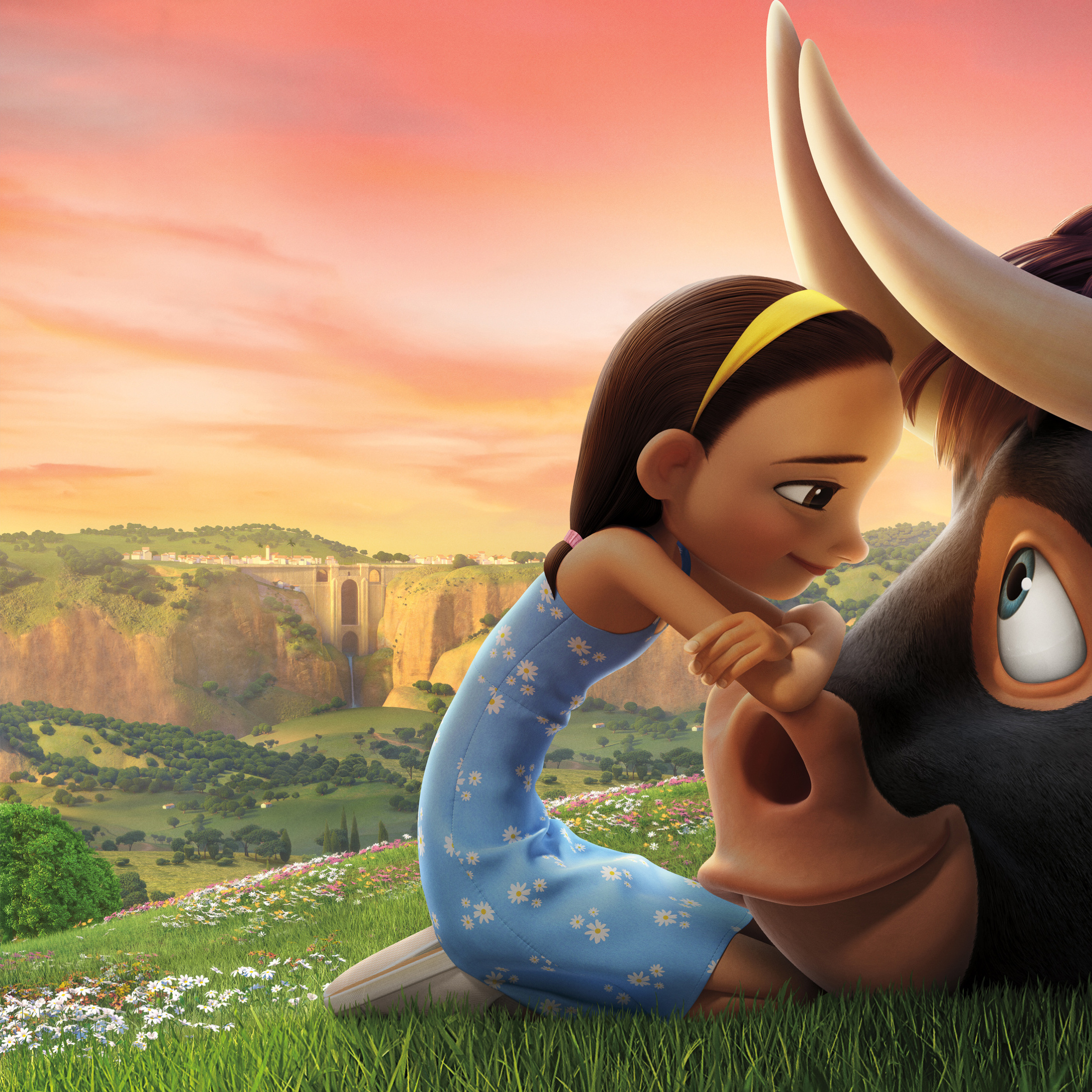 Download Ferdinand Movie Still 2560x1024 Resolution, HD 4K