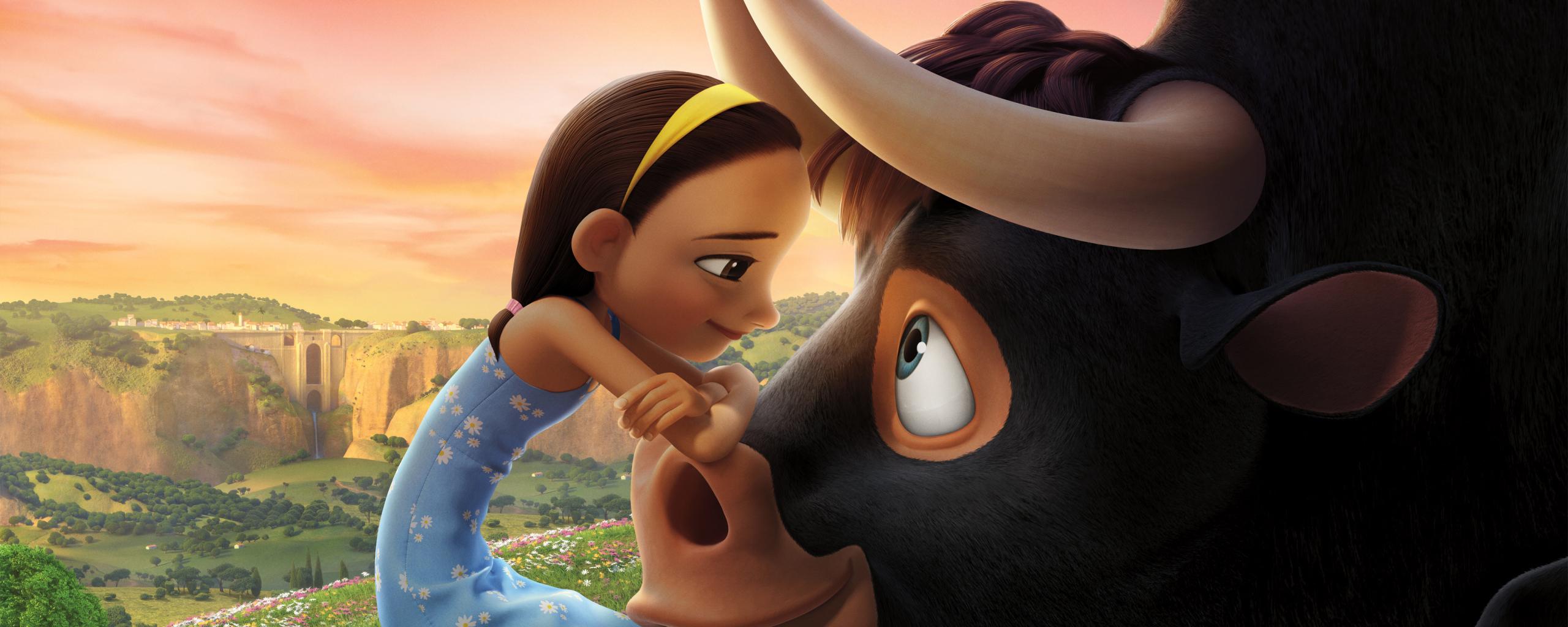 Download Ferdinand Movie Still 2560x1024 Resolution HD 4K Wallpaper