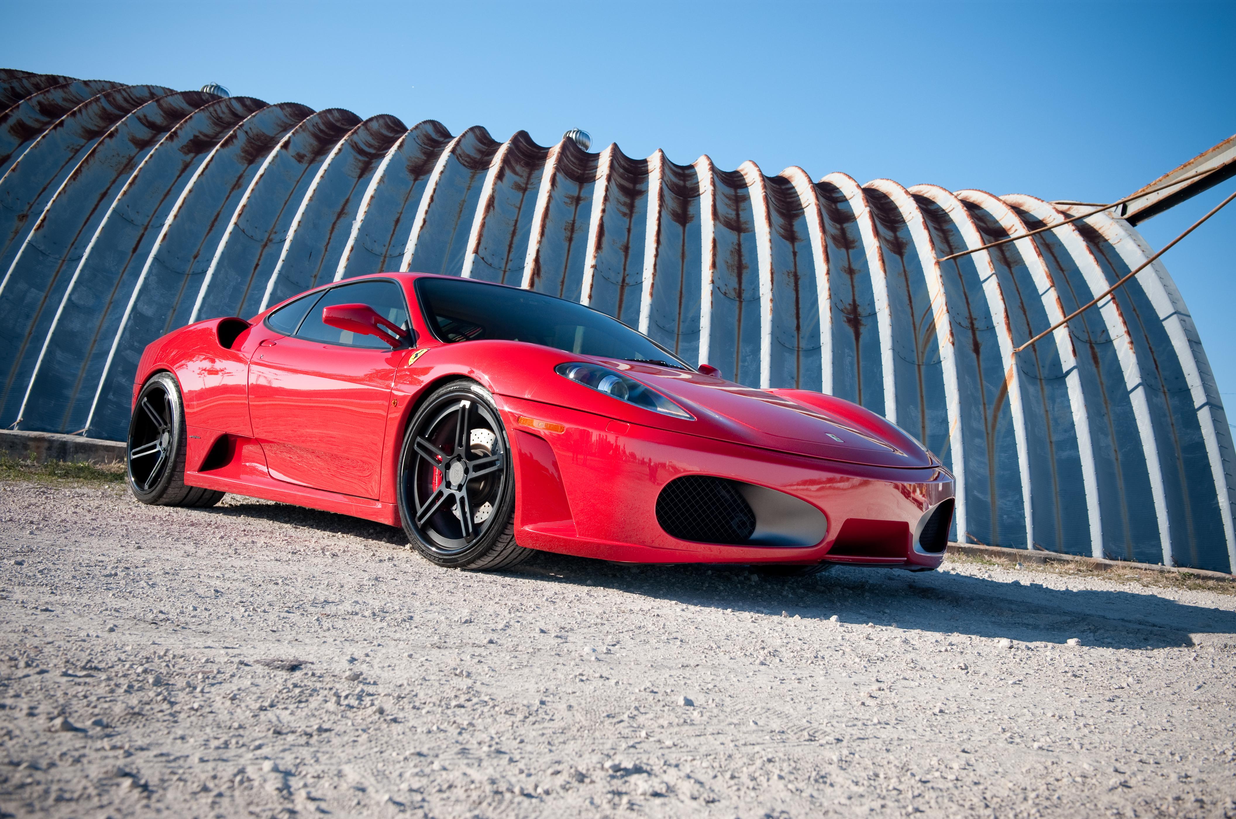 ferrari, f430, red Wallpaper, HD Cars 4K Wallpapers ...