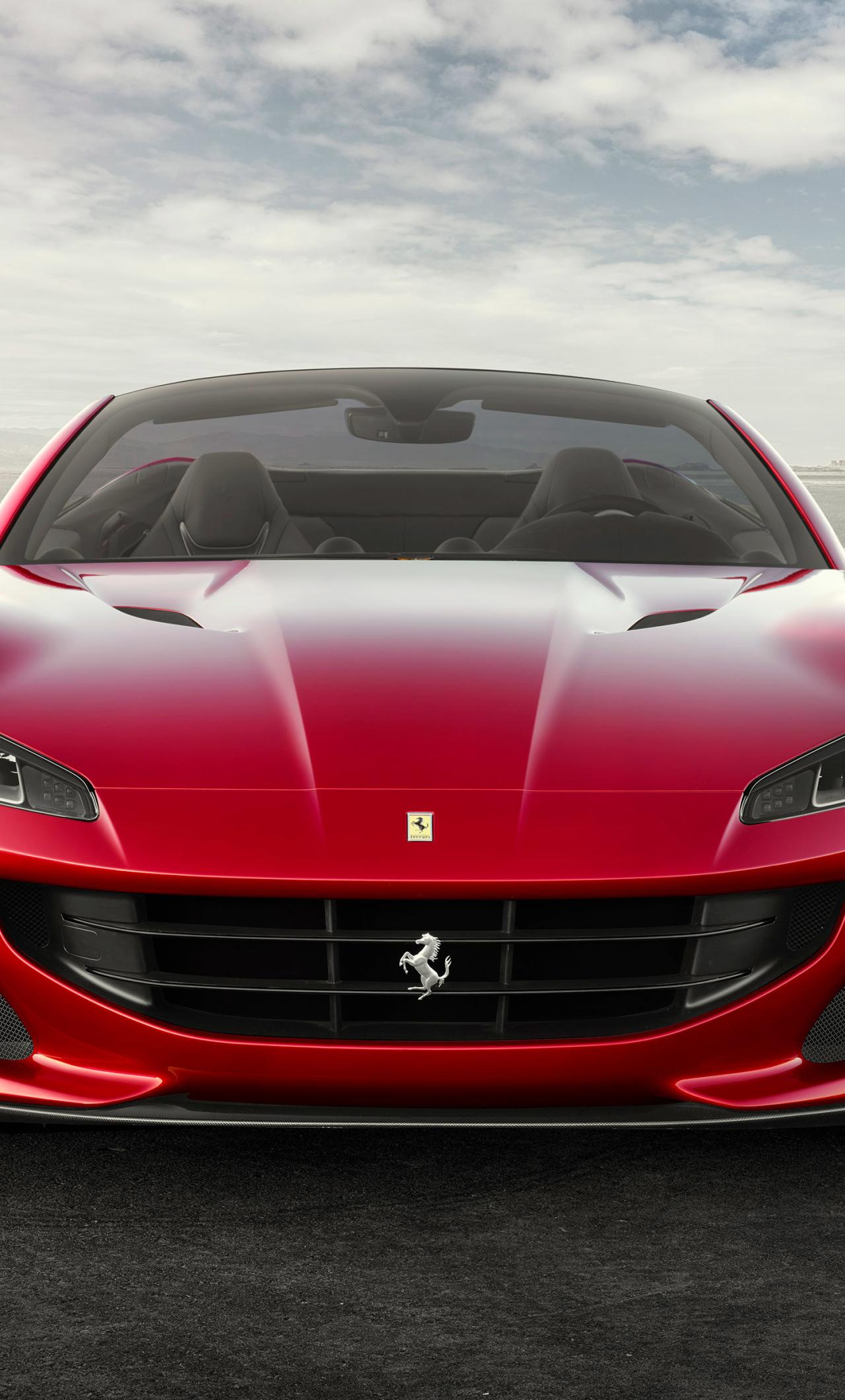 1280x2120 Ferrari Portofino 2017 Iphone 6 Plus Wallpaper Hd Cars 4k Wallpapers Images Photos And Background