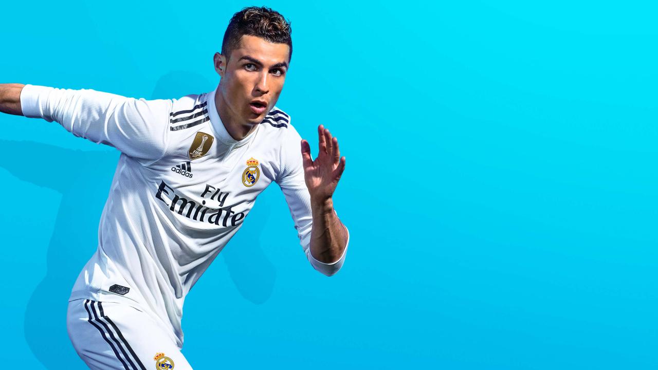 1280x720 FIFA 19 Game Cristiano Ronaldo 720P Wallpaper, HD ...
