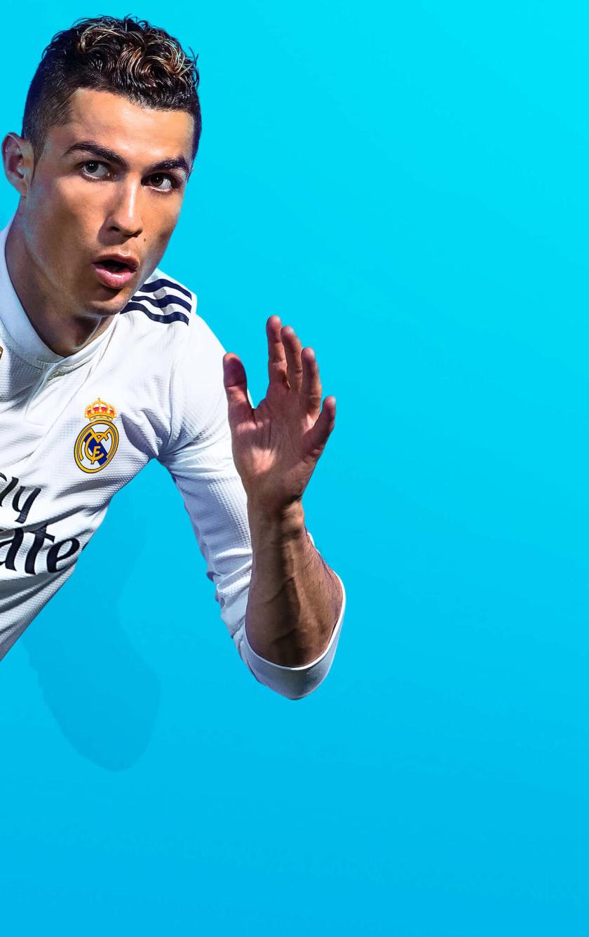 Fifa 19 Game Cristiano Ronaldo, HD 4K Wallpaper