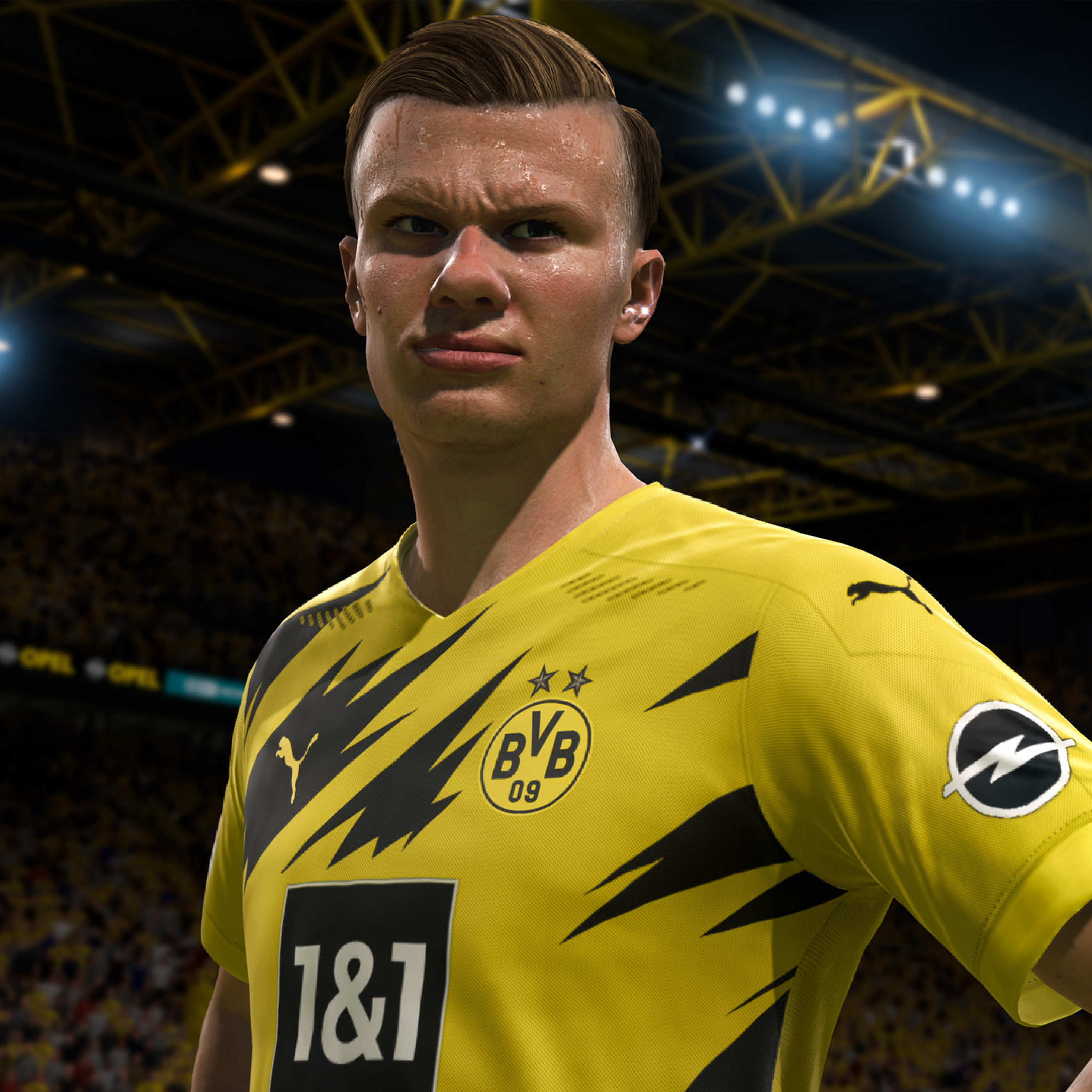 2932x2932 Fifa 21 Erling Braut Haland Ipad Pro Retina Display Wallpaper Hd Games 4k Wallpapers Images Photos And Background