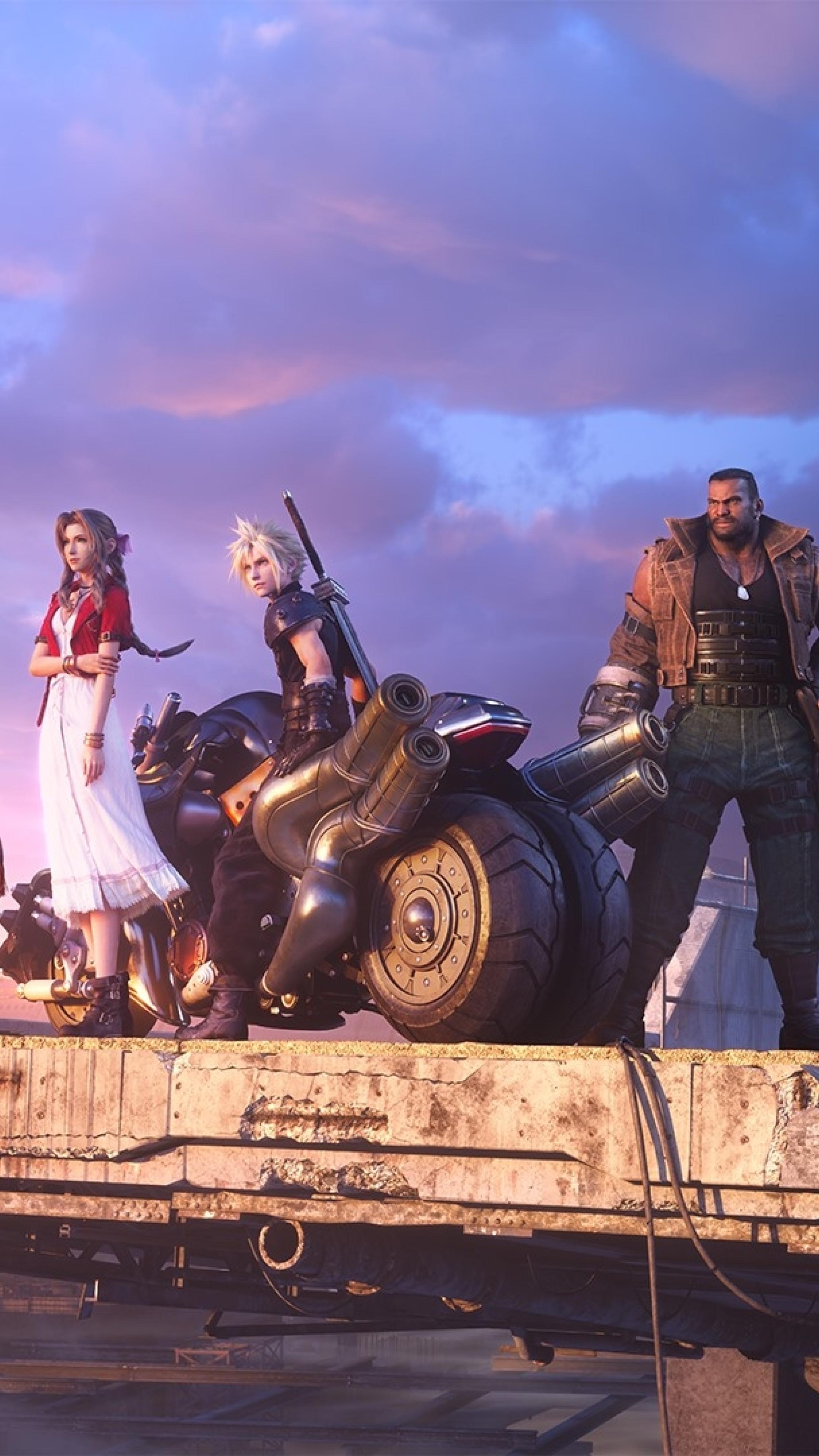 2160x3840 Final Fantasy 7 Remake Team Sony Xperia X,XZ,Z5 ...