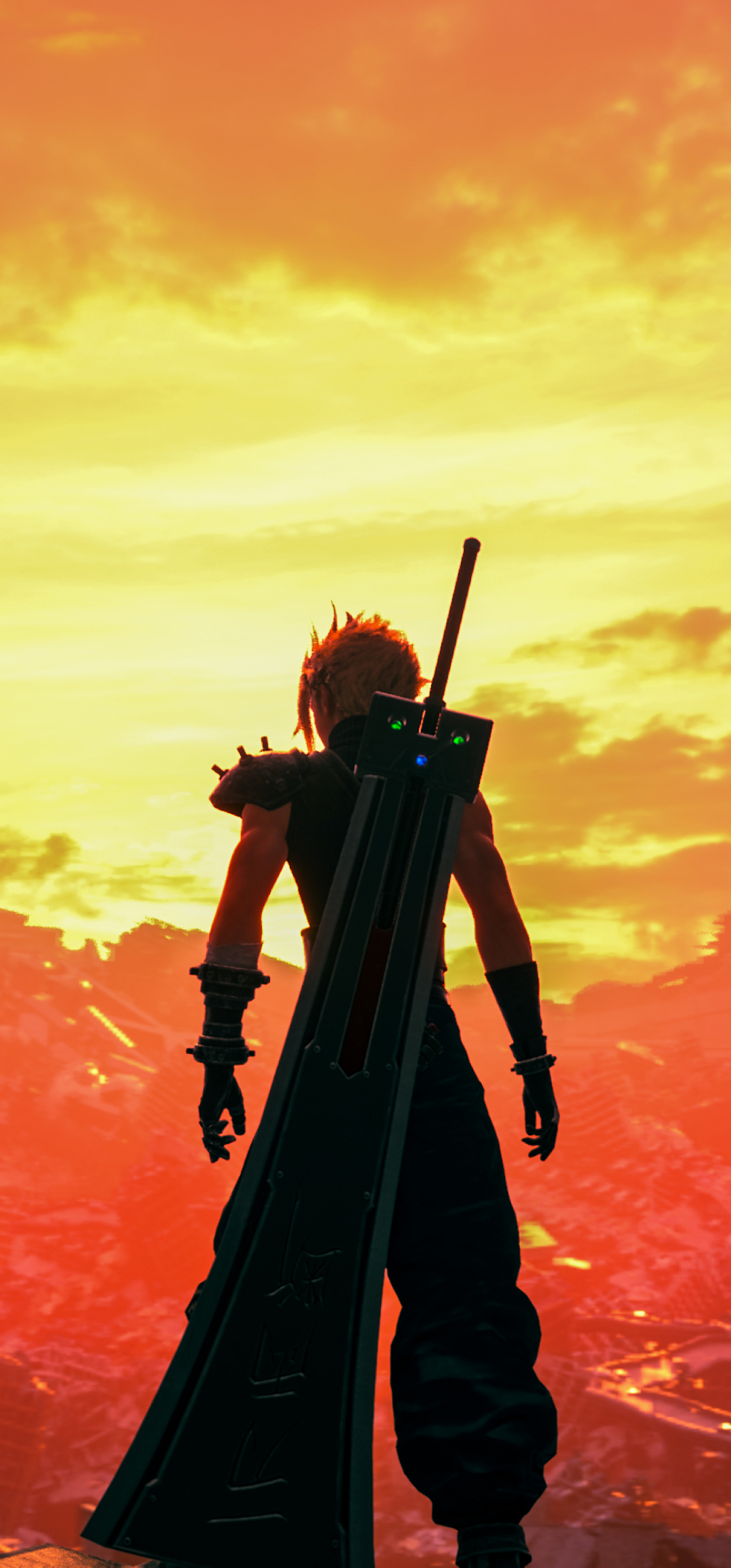 1080x2316 Final Fantasy VII Remake 2020 1080x2316 ...