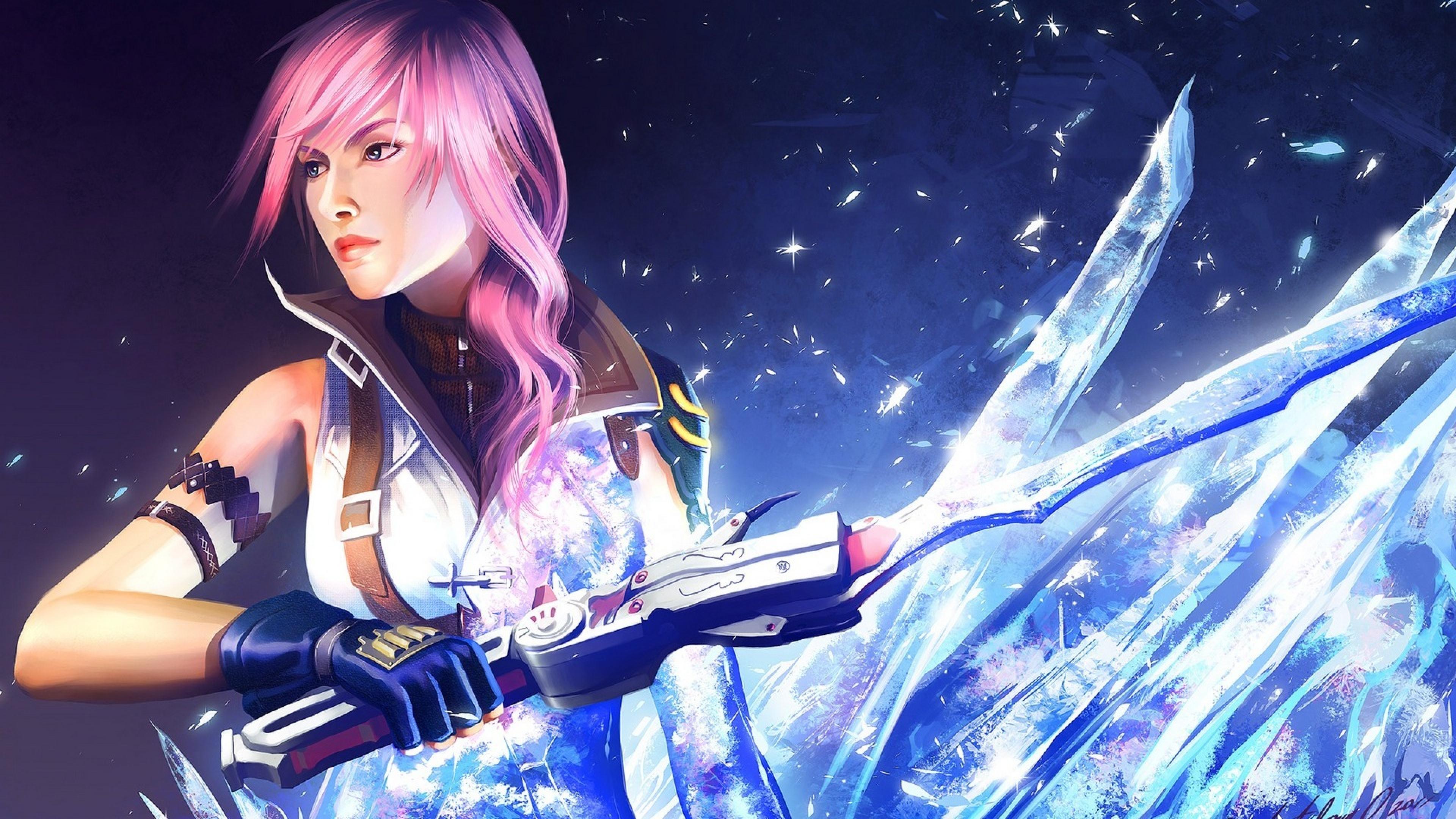 3840x2160 Final Fantasy Xiii Mathia Arkoniel Art 4k Wallpaper