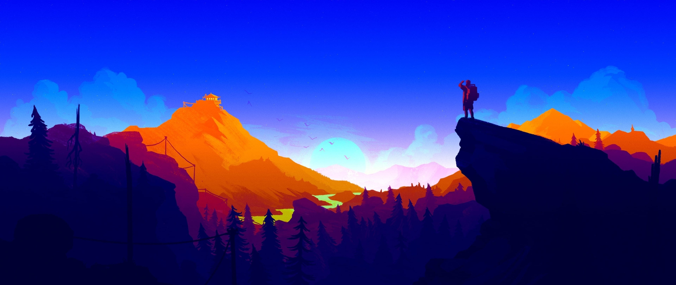 Firewatch 2017 hd 4k wallpaper - 1366x768 is 720p or 1080p ...