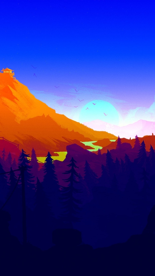Firewatch 2017, HD 4K Wallpaper