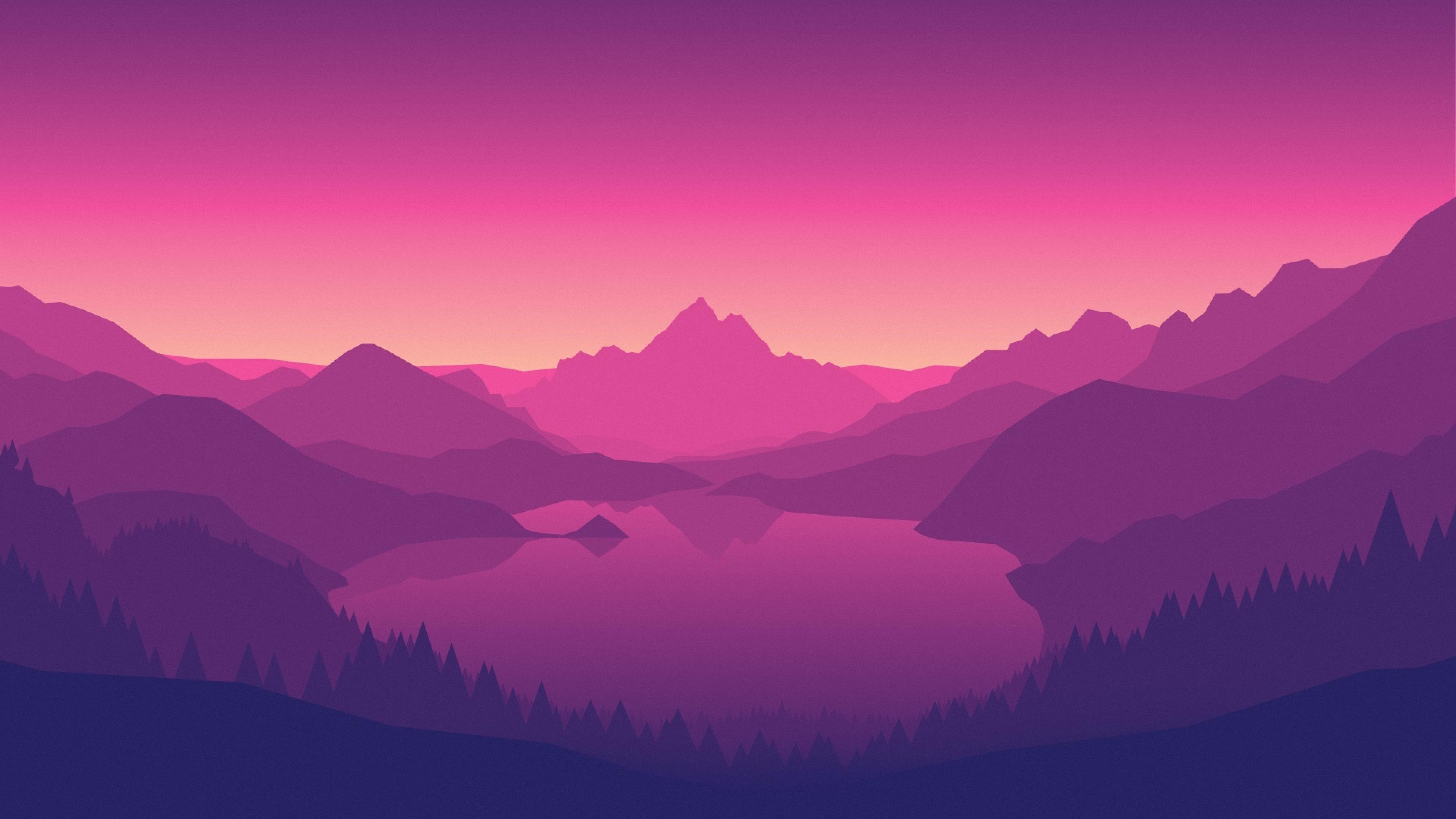 3840x2160 Firewatch Video Games Mountains 4k Wallpaper Hd