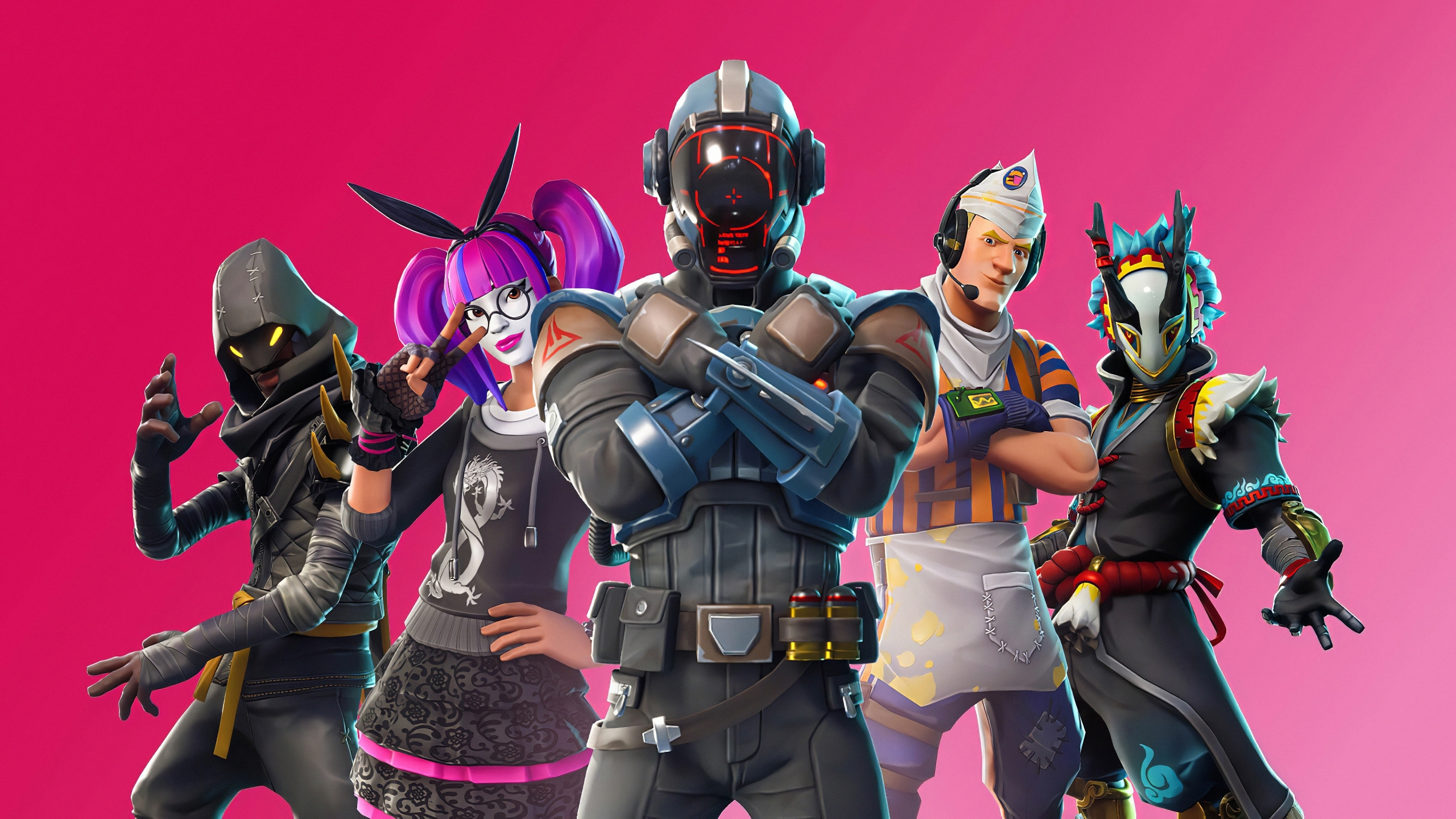 2560x1440 Fortnite 11 Team 1440p Resolution Wallpaper Hd