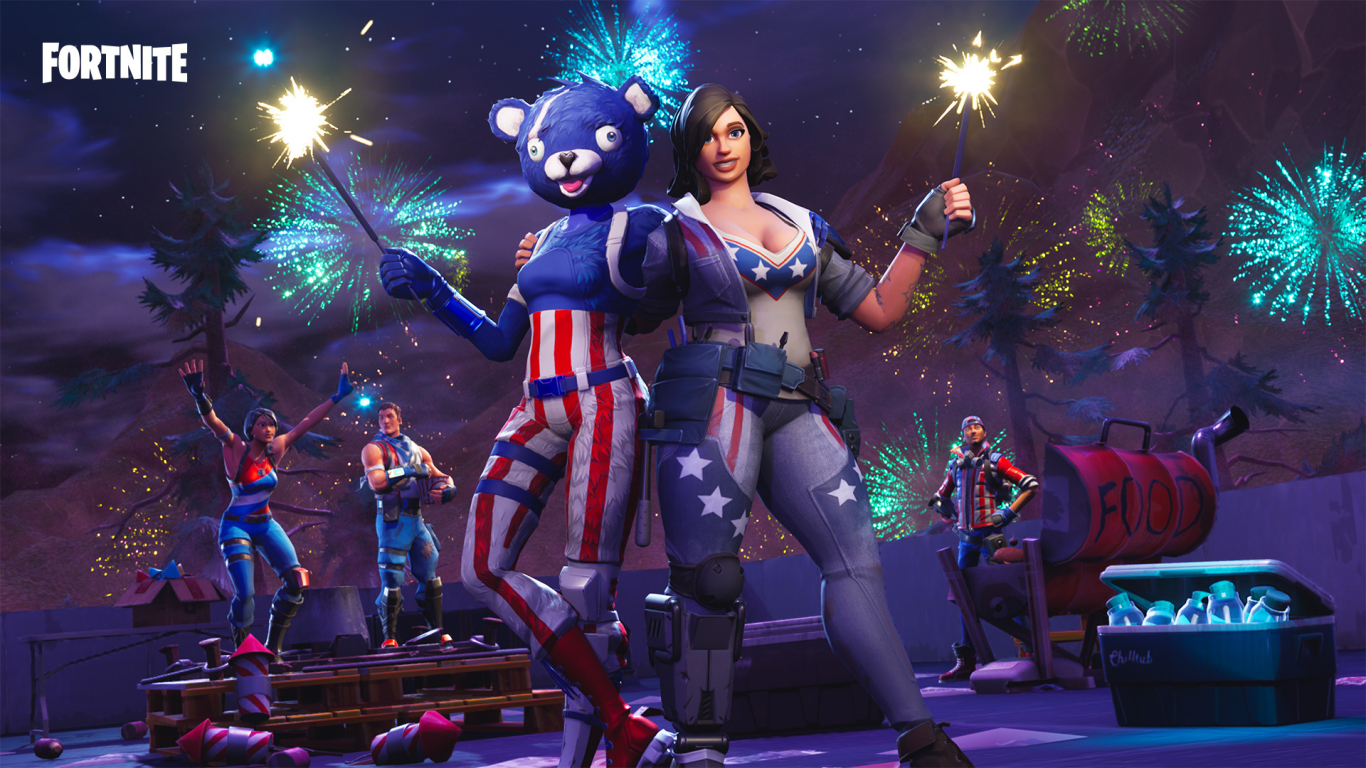1366x768 Fortnite Battle Royale Android Mobile 1366x768