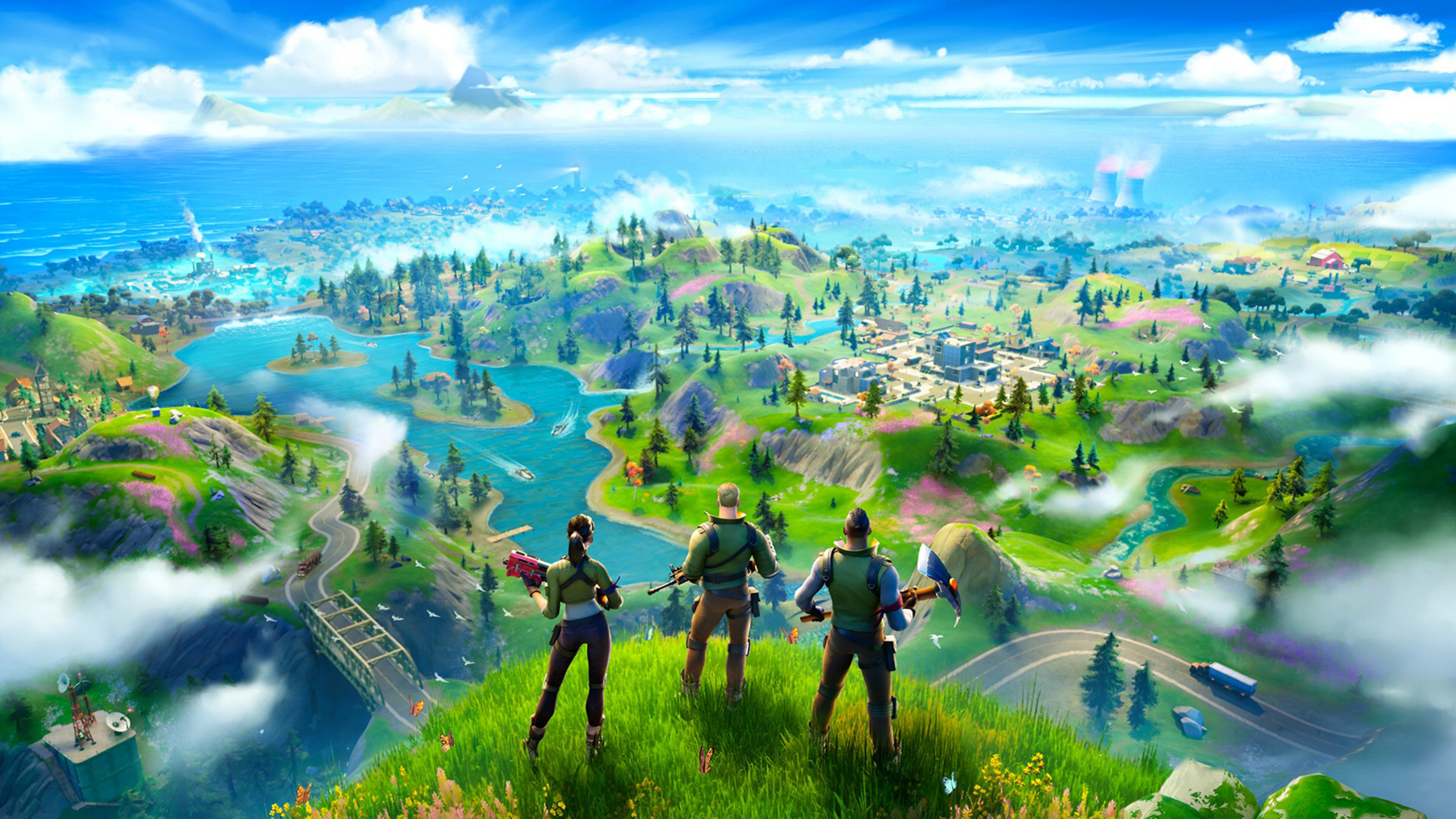 3840x2160 Fortnite Battle Royale Chapter 2 4k Wallpaper Hd Games 4k Wallpapers Images Photos And Background