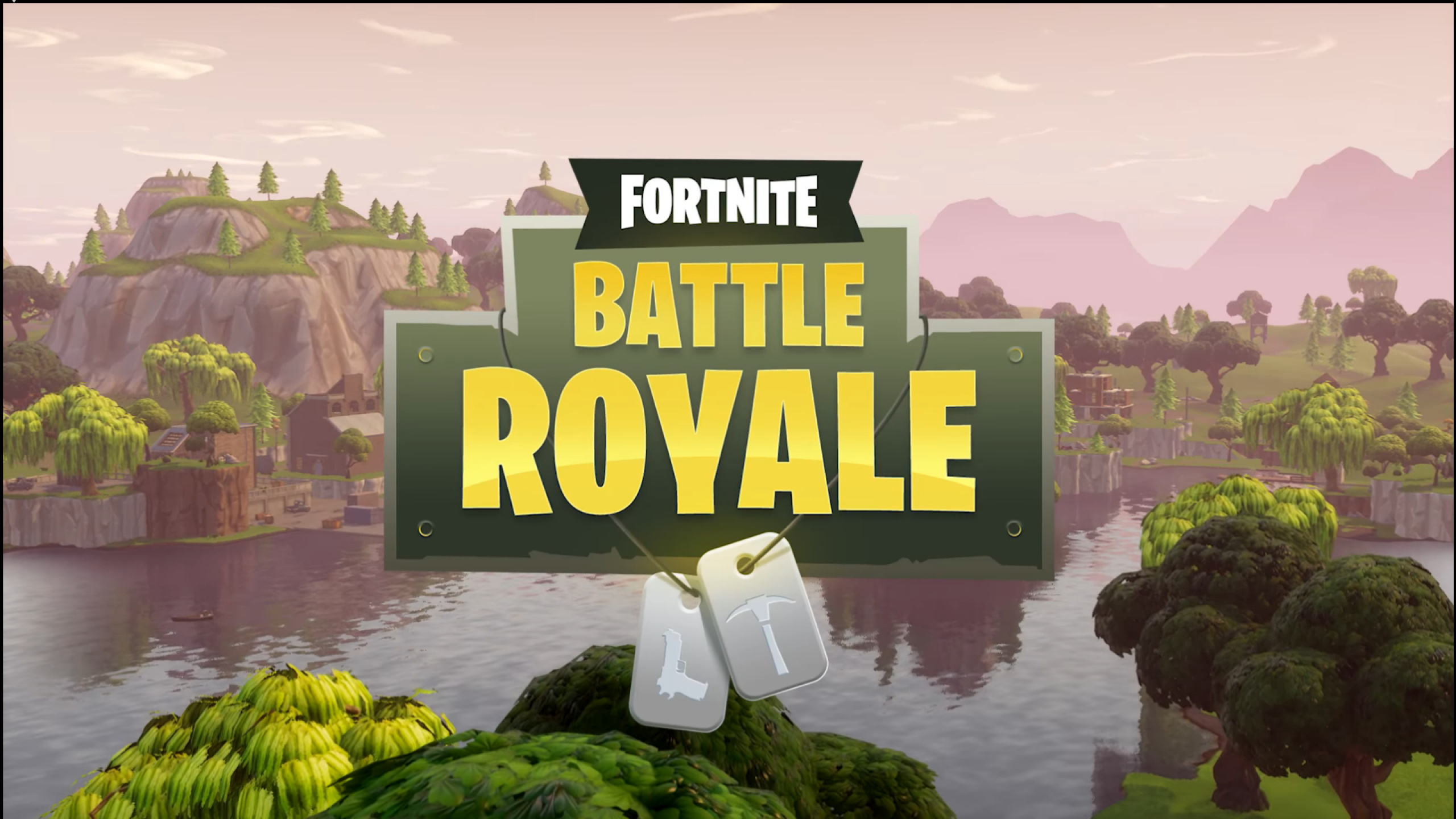 2560x1440 Fortnite Battle Royale Game Poster 1440p