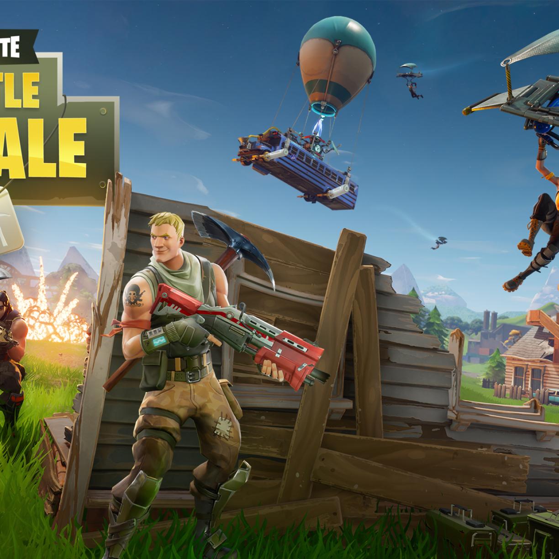 Fortnite Battle Royale Iphone Wallpaper