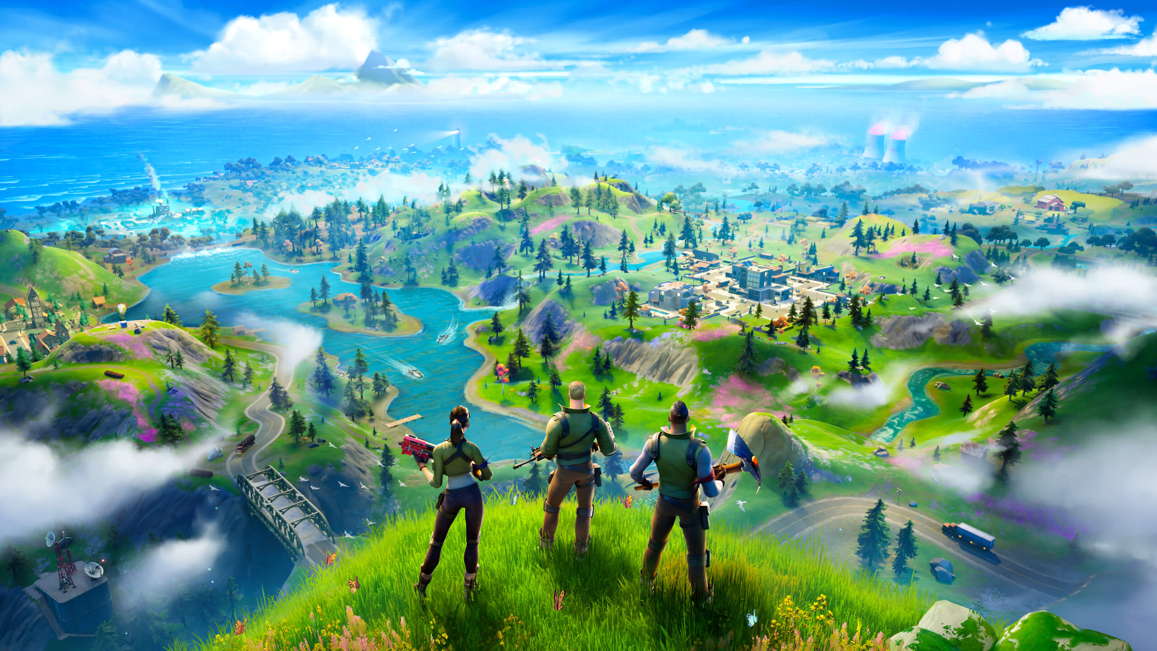1125x2436 Fortnite Chapter 2 Iphone Xs Iphone 10 Iphone X Wallpaper Hd Games 4k Wallpapers Images Photos And Background
